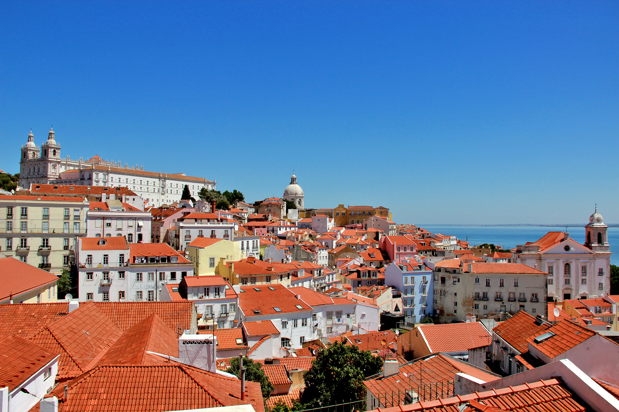 The roofs of Alfama...