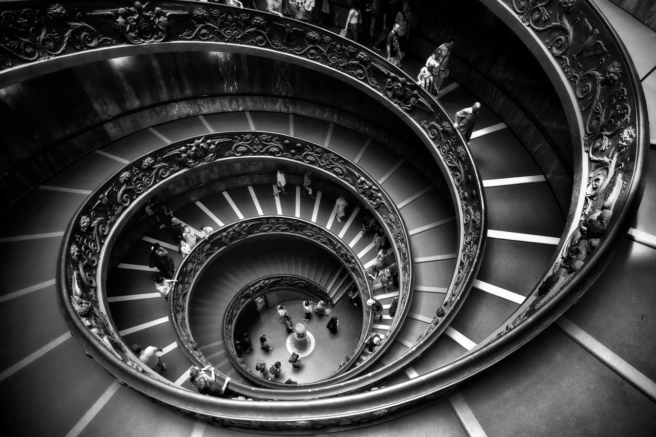 """""""Bramante Staircase""""..."""