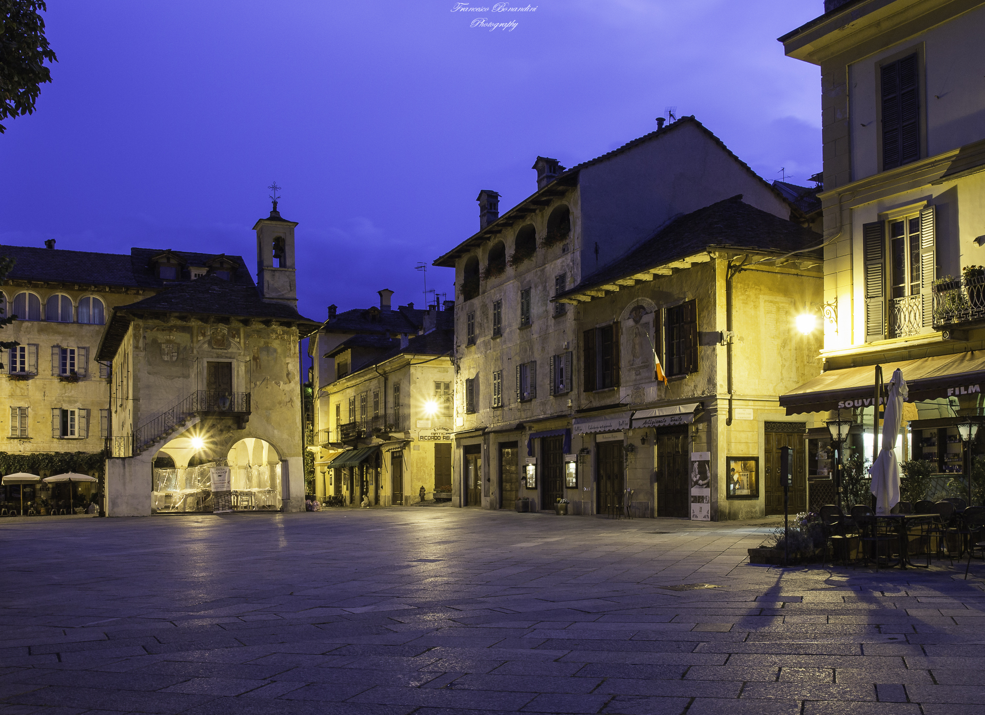 Piazzetta at the blue hour...