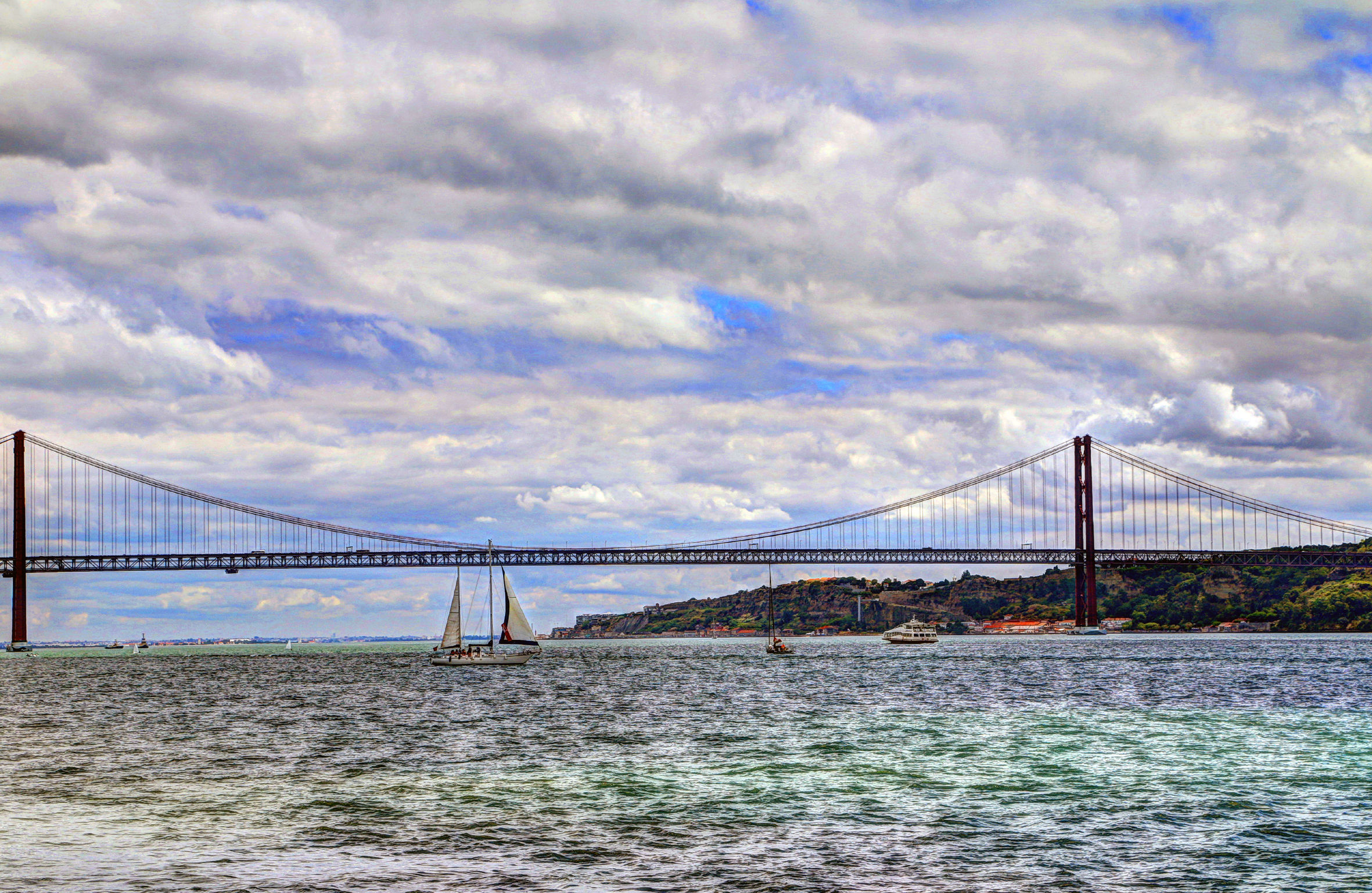The bridge over the Tagus...