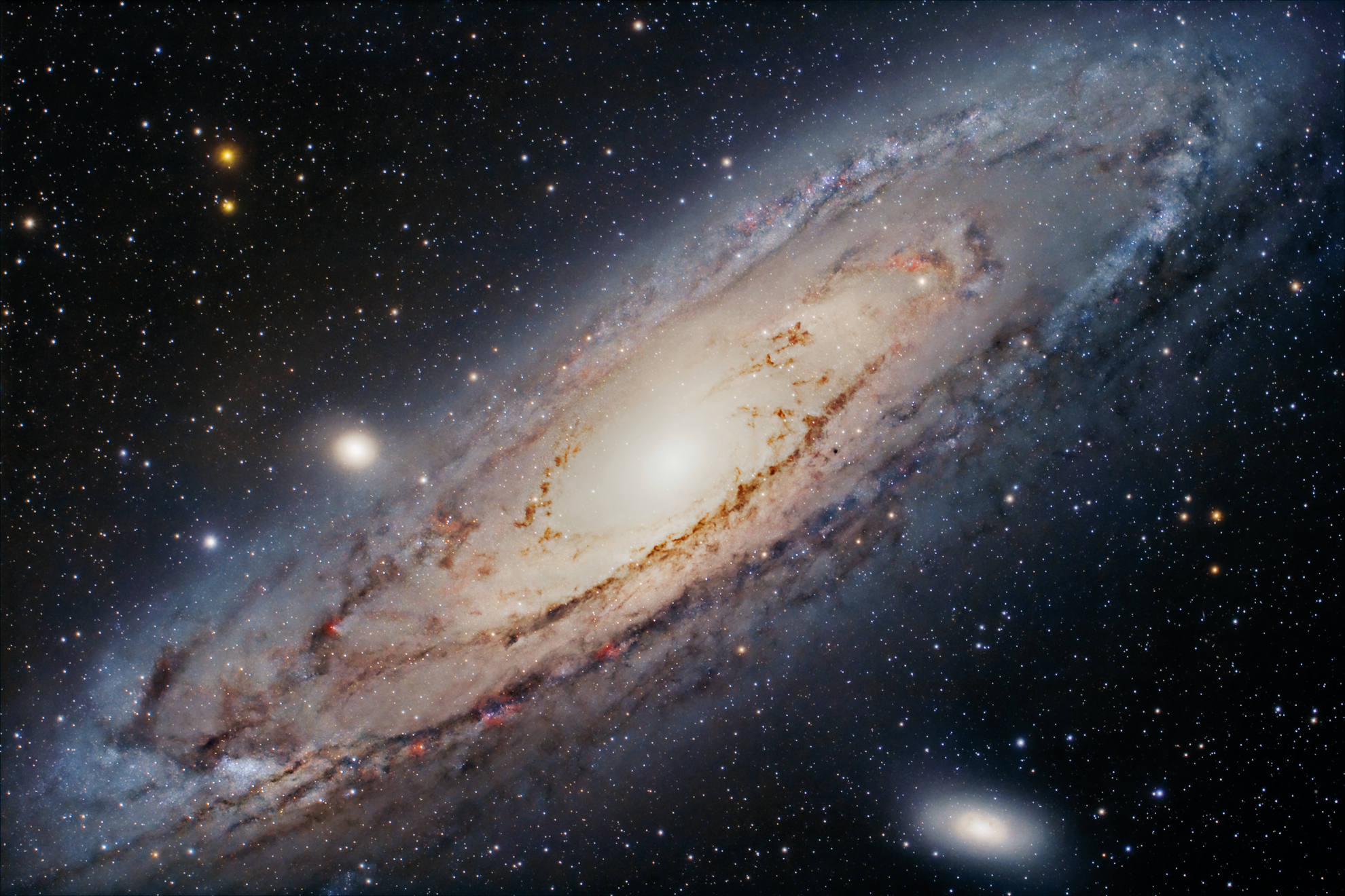 The Great Andromeda Galaxy...