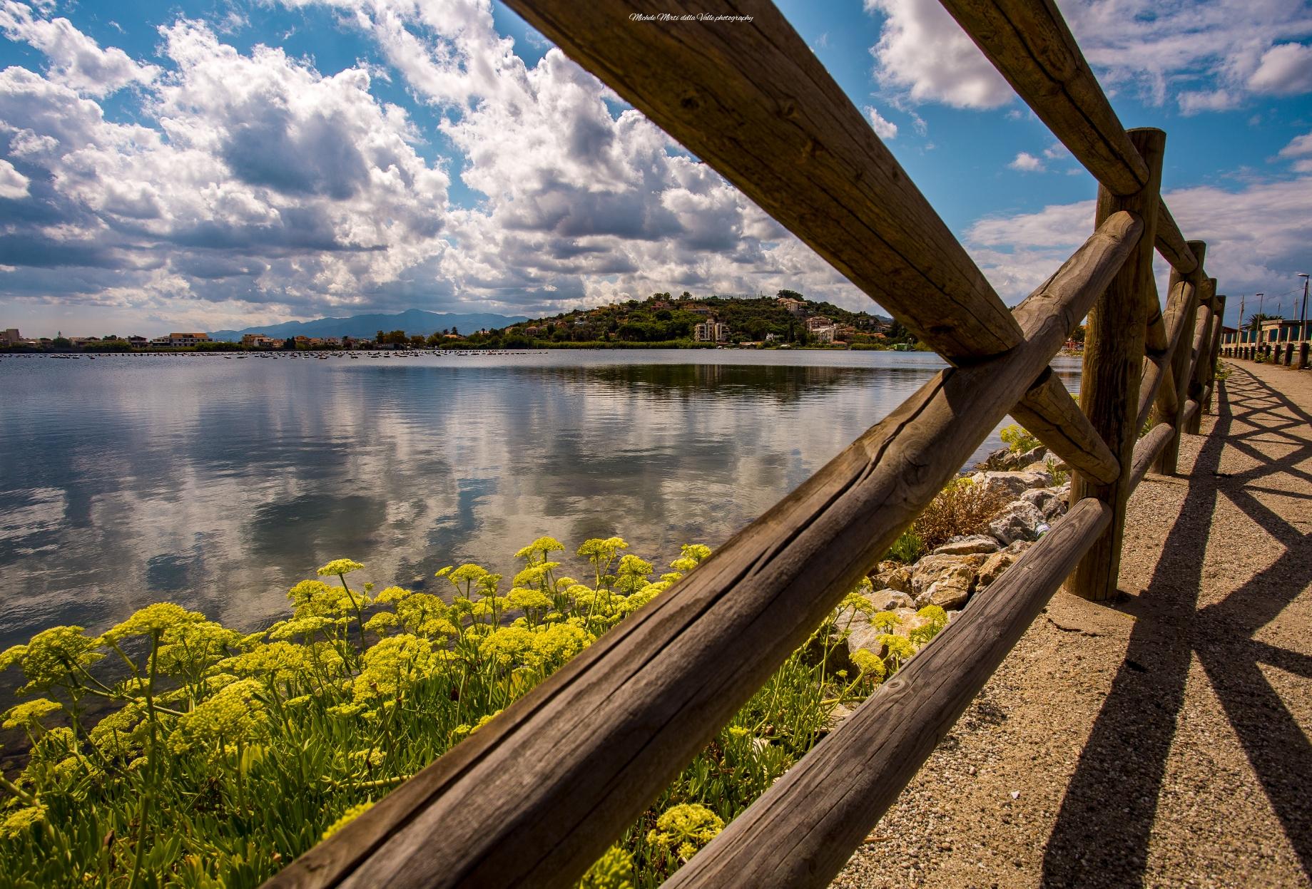 Lago di Ganzirri piccolo...