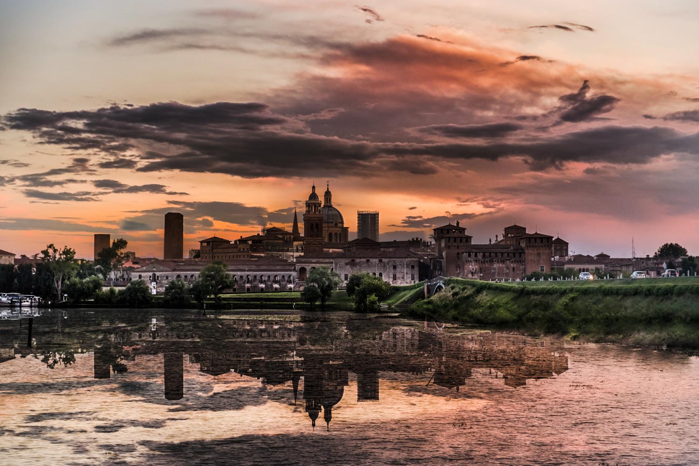Skyline of Mantova ... !!!...