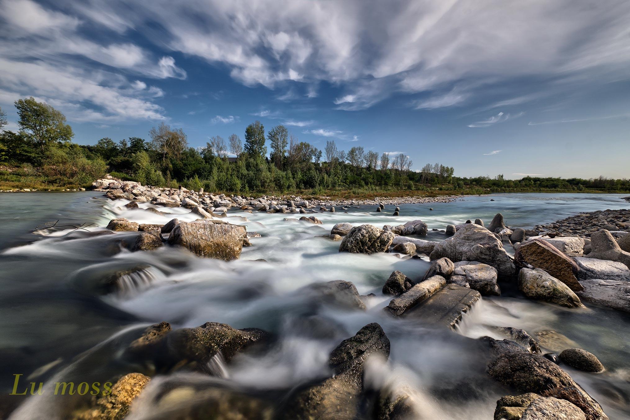 Brembo river rapids...