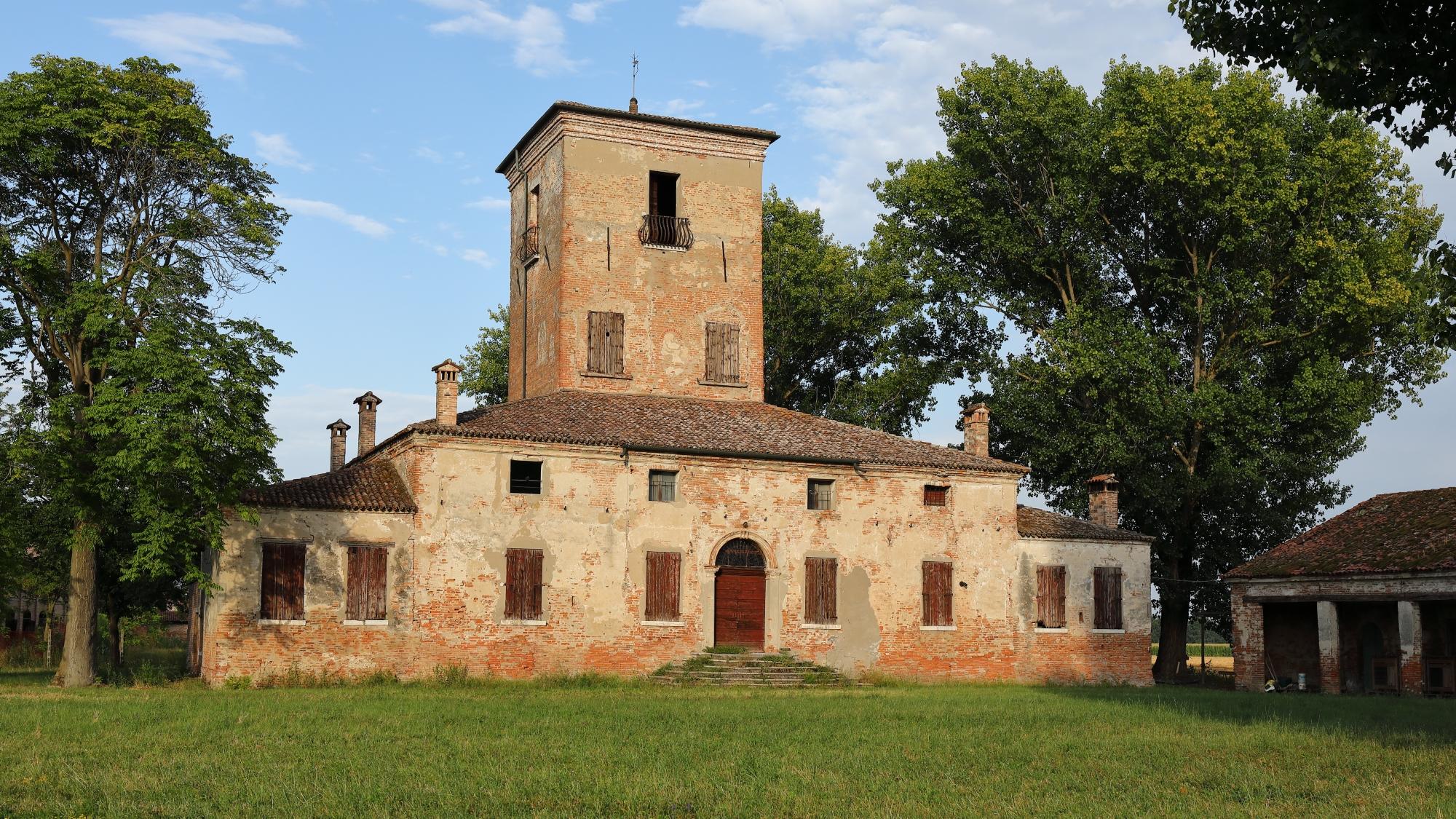 Sariano (Ro). Casa Pepoli (Il Castello)....