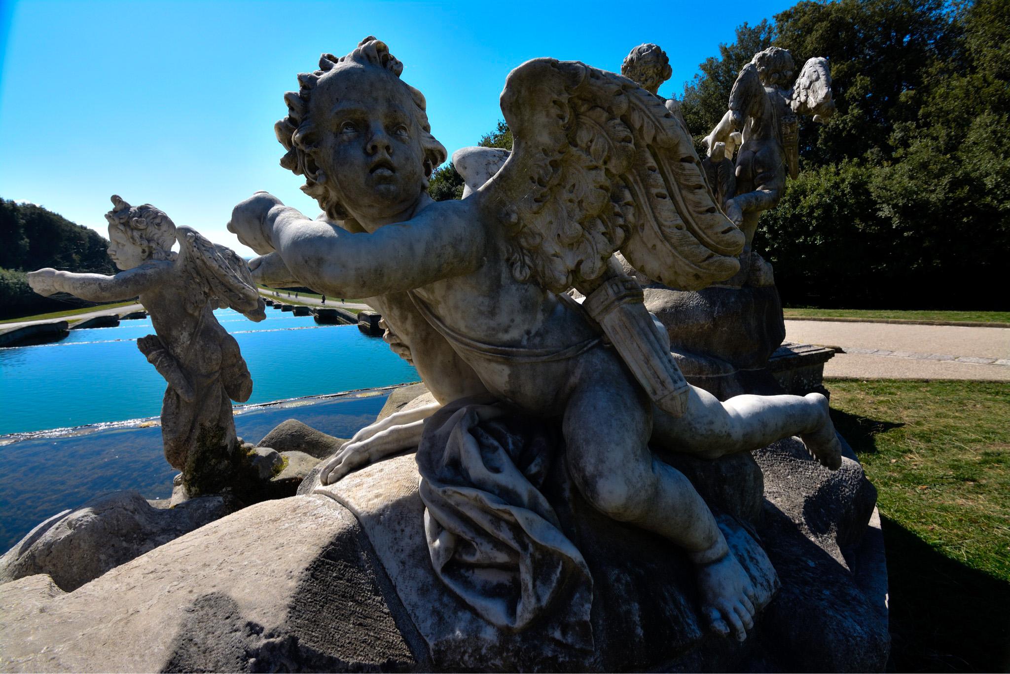 Venus and Adonis fountain...