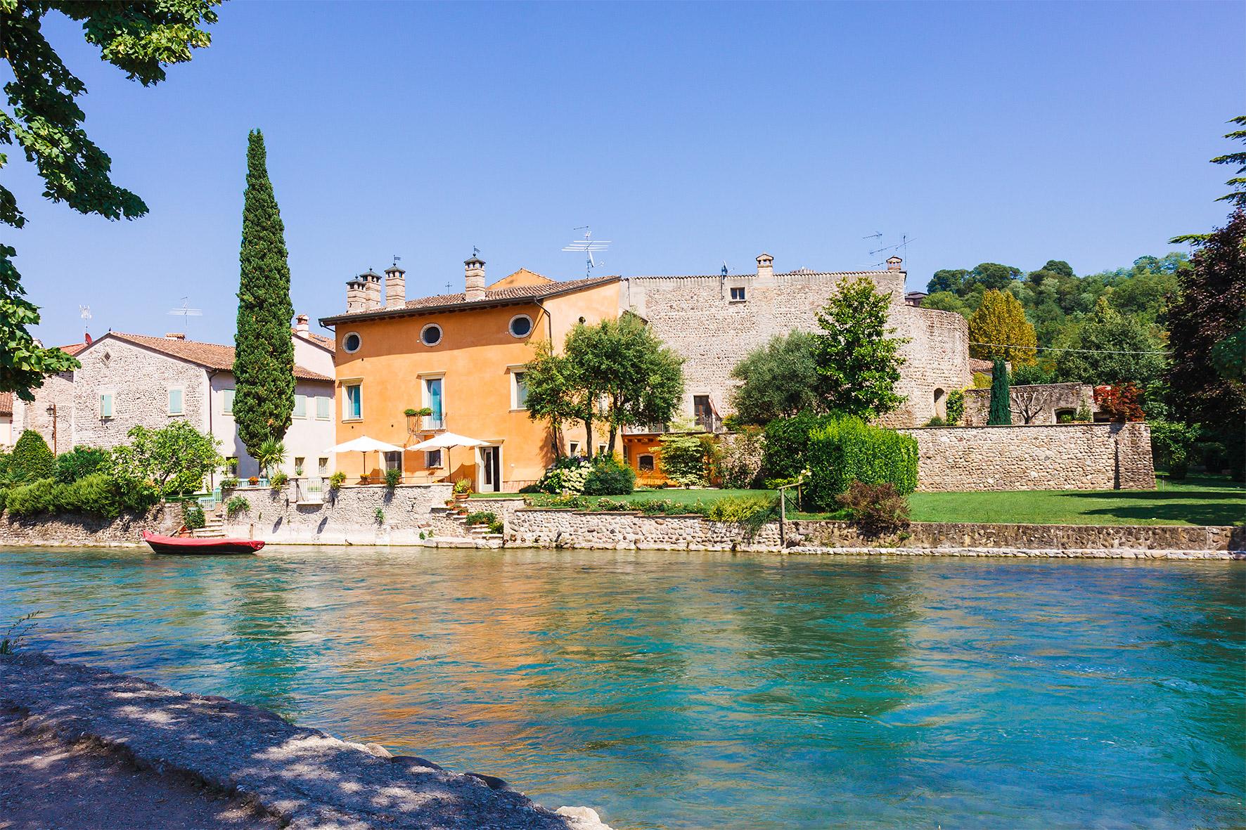 Borghetto-Valeggio on the Mincio...