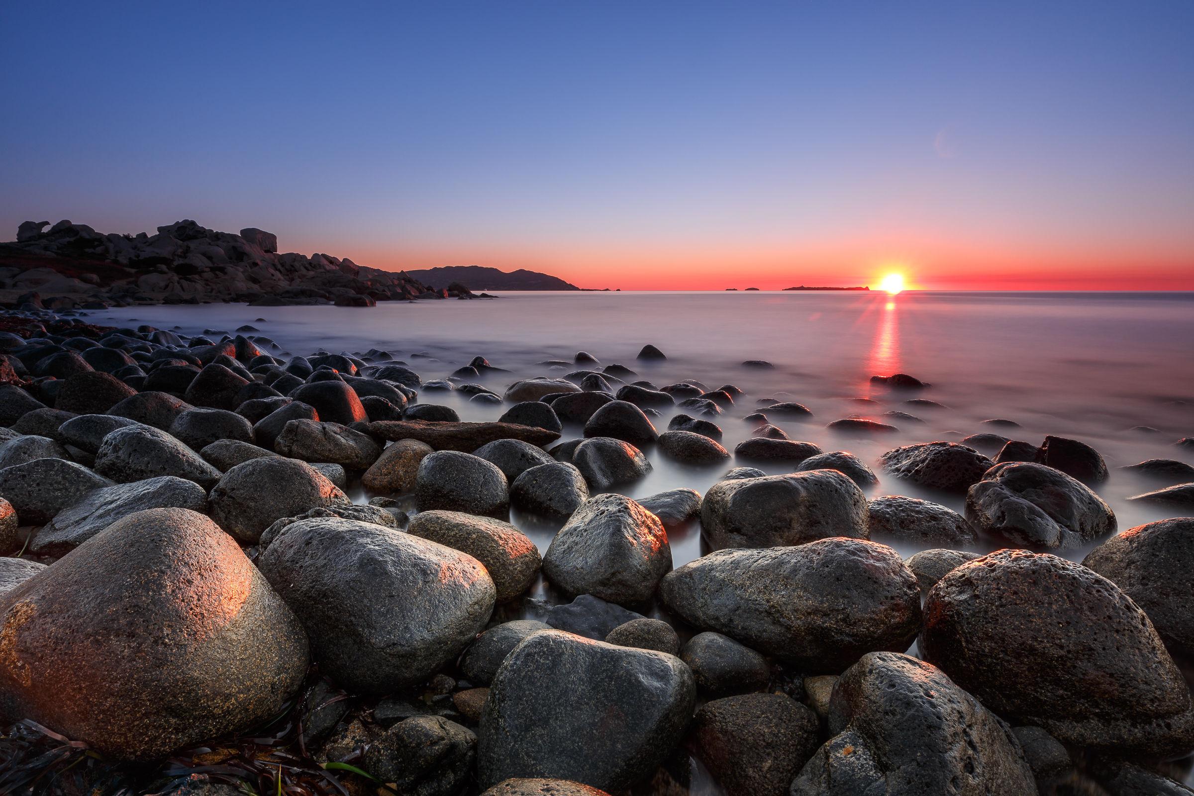 Sunrise at Cala Burroni...