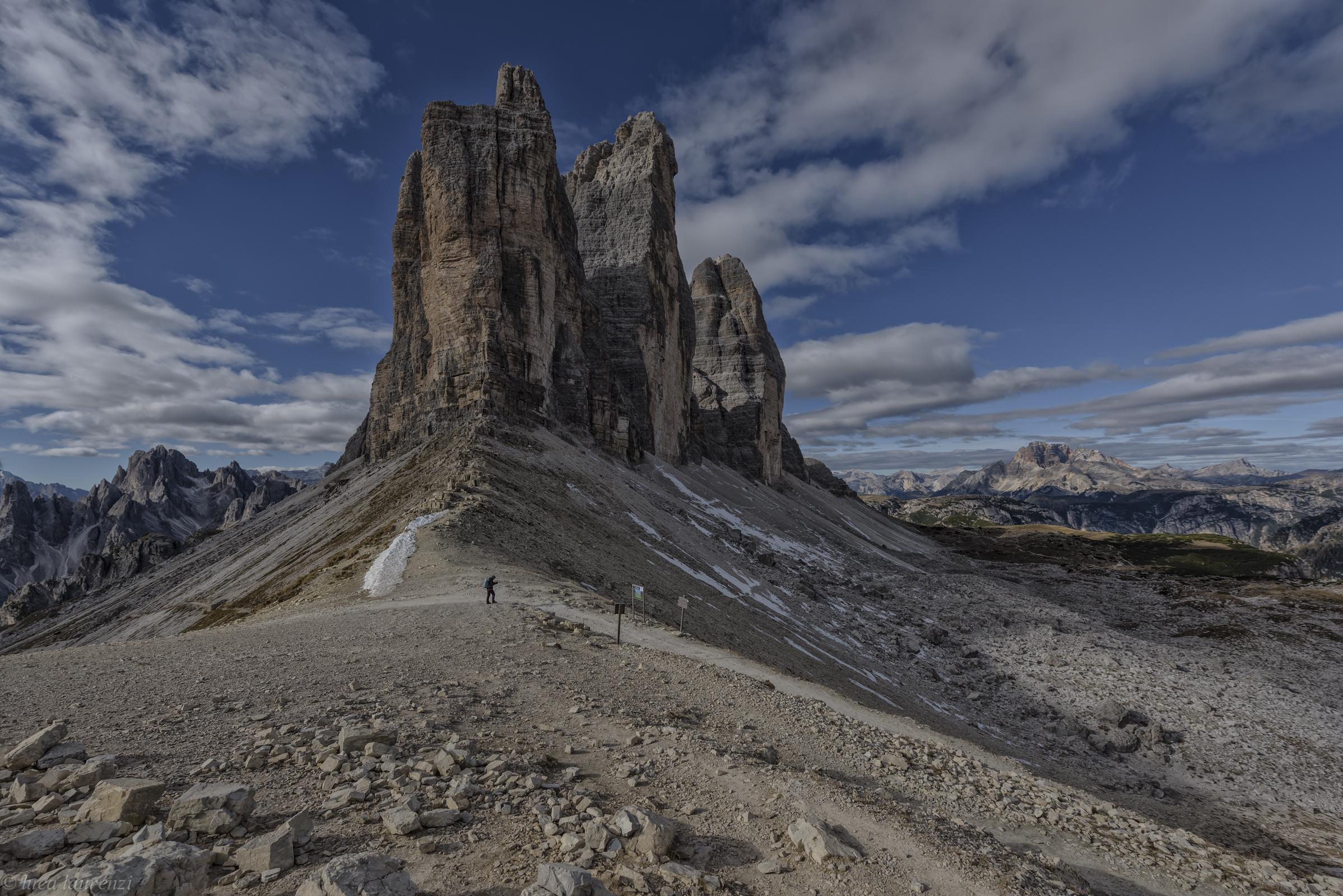The three peaks of Lavaredo...