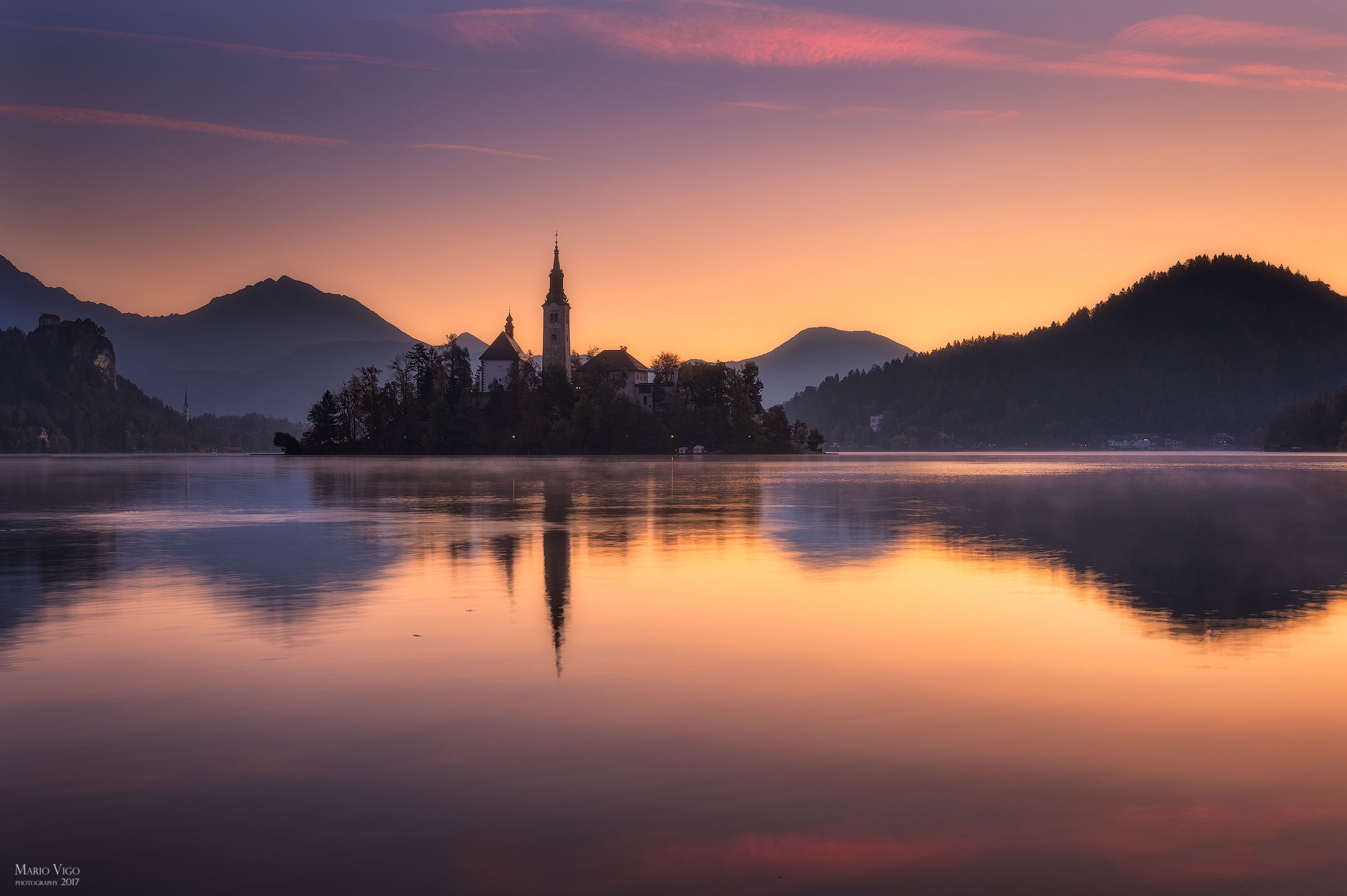 The dawn of Bled...
