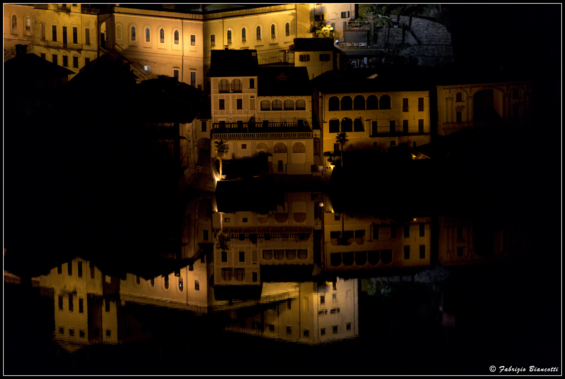Like a mirror in the night...