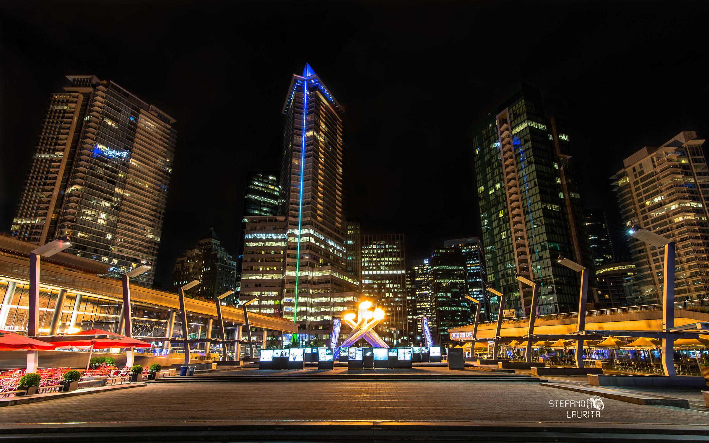 City of blinding lights...