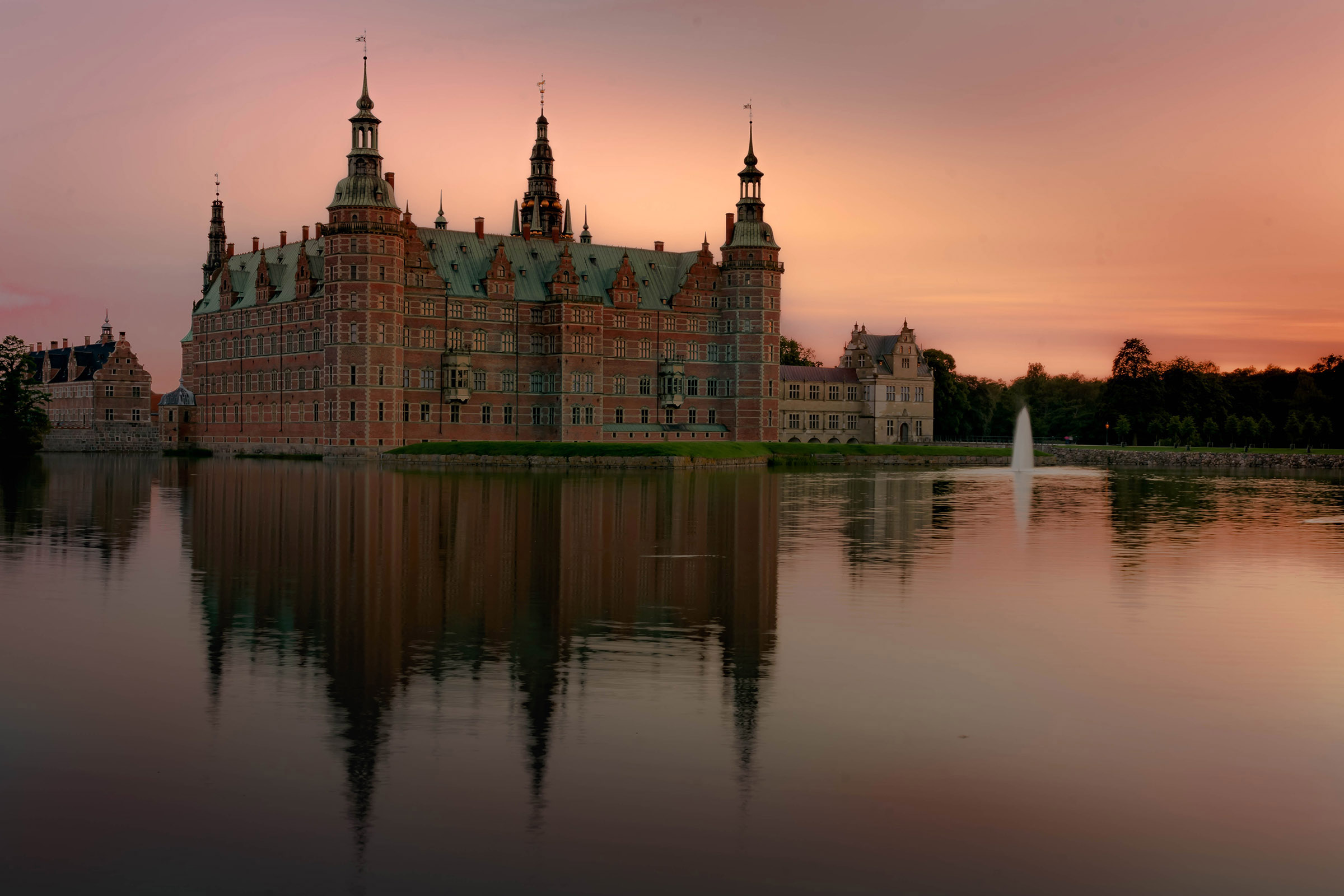 Frederiksborg Castle...