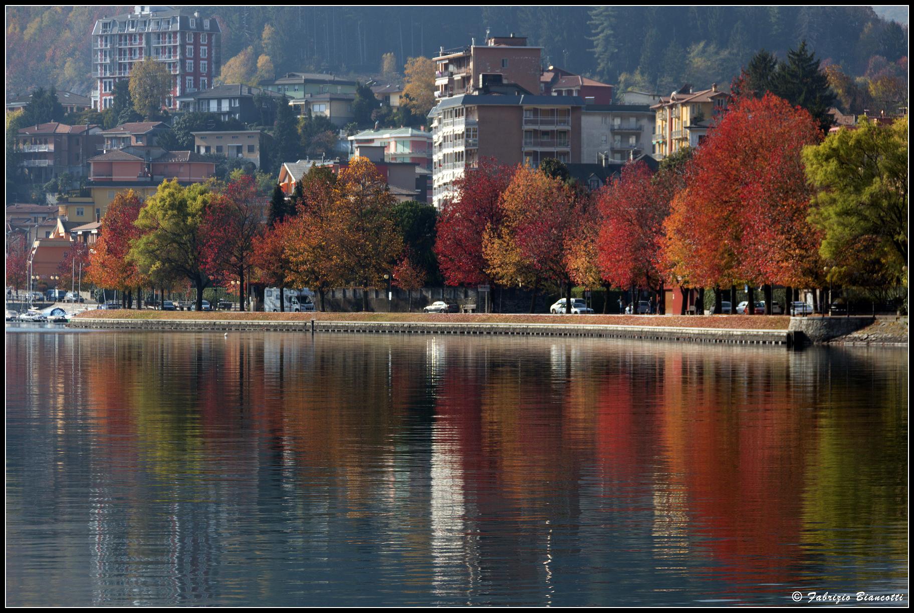 Autumn to Omegna...