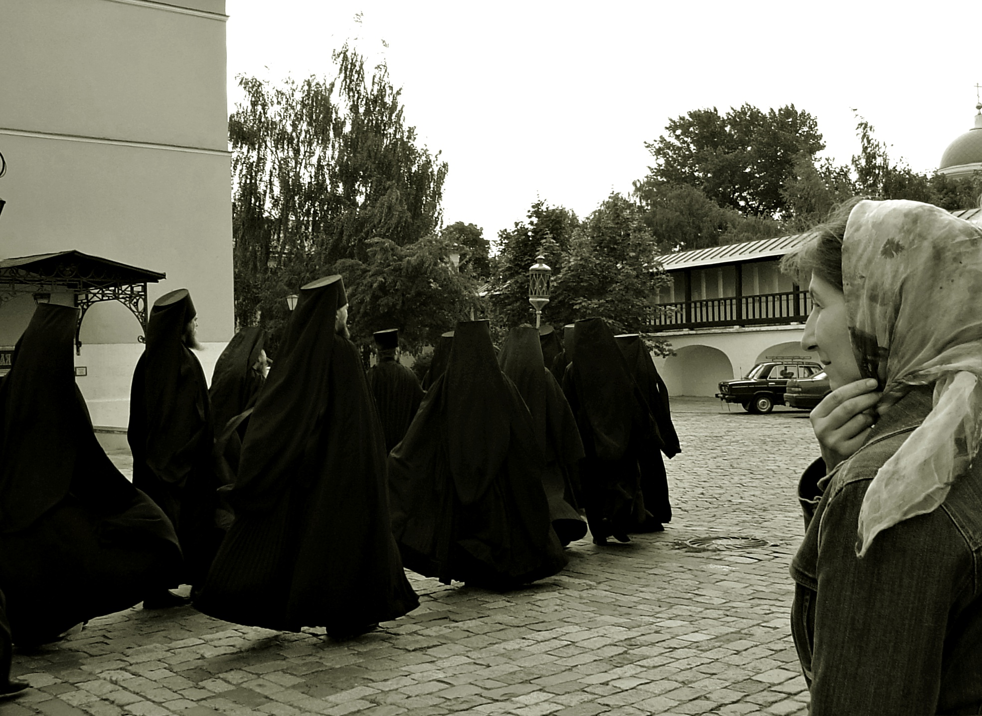At the Danilovskij Monastery (Moscow)...