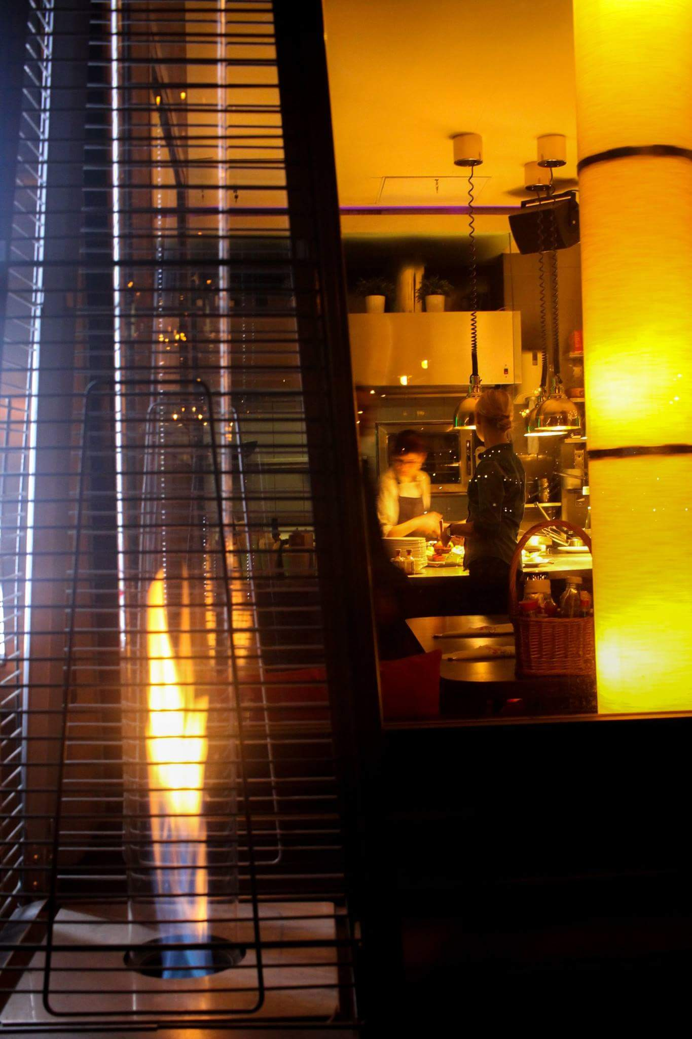 Coffee bar in Vilnius Lituania...