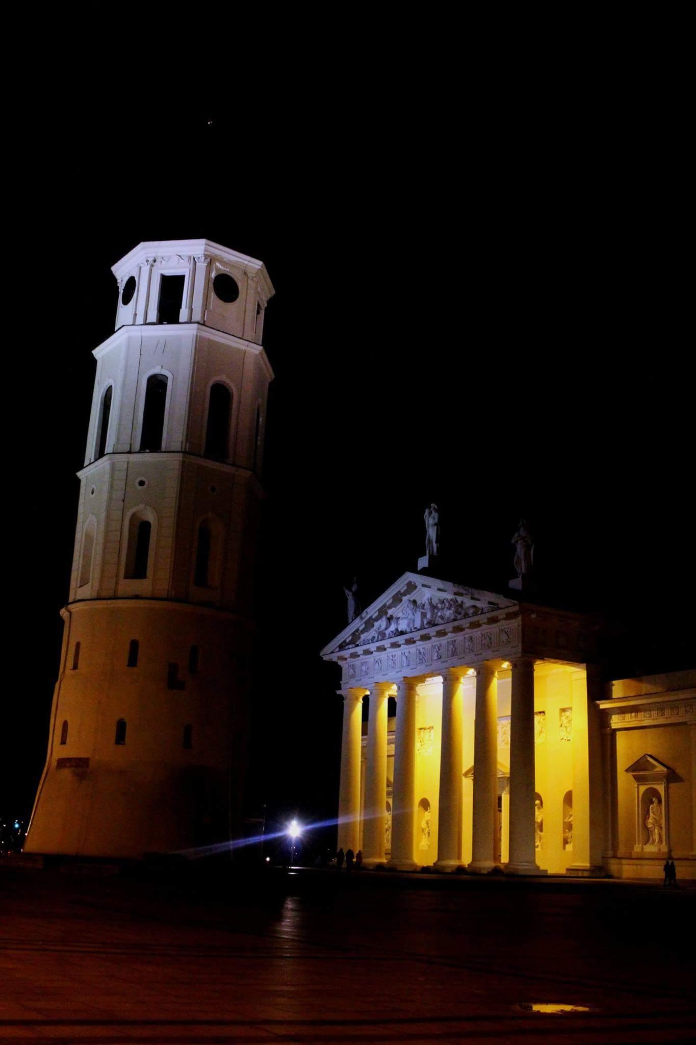 Vilnius Catedral in Lithuania...