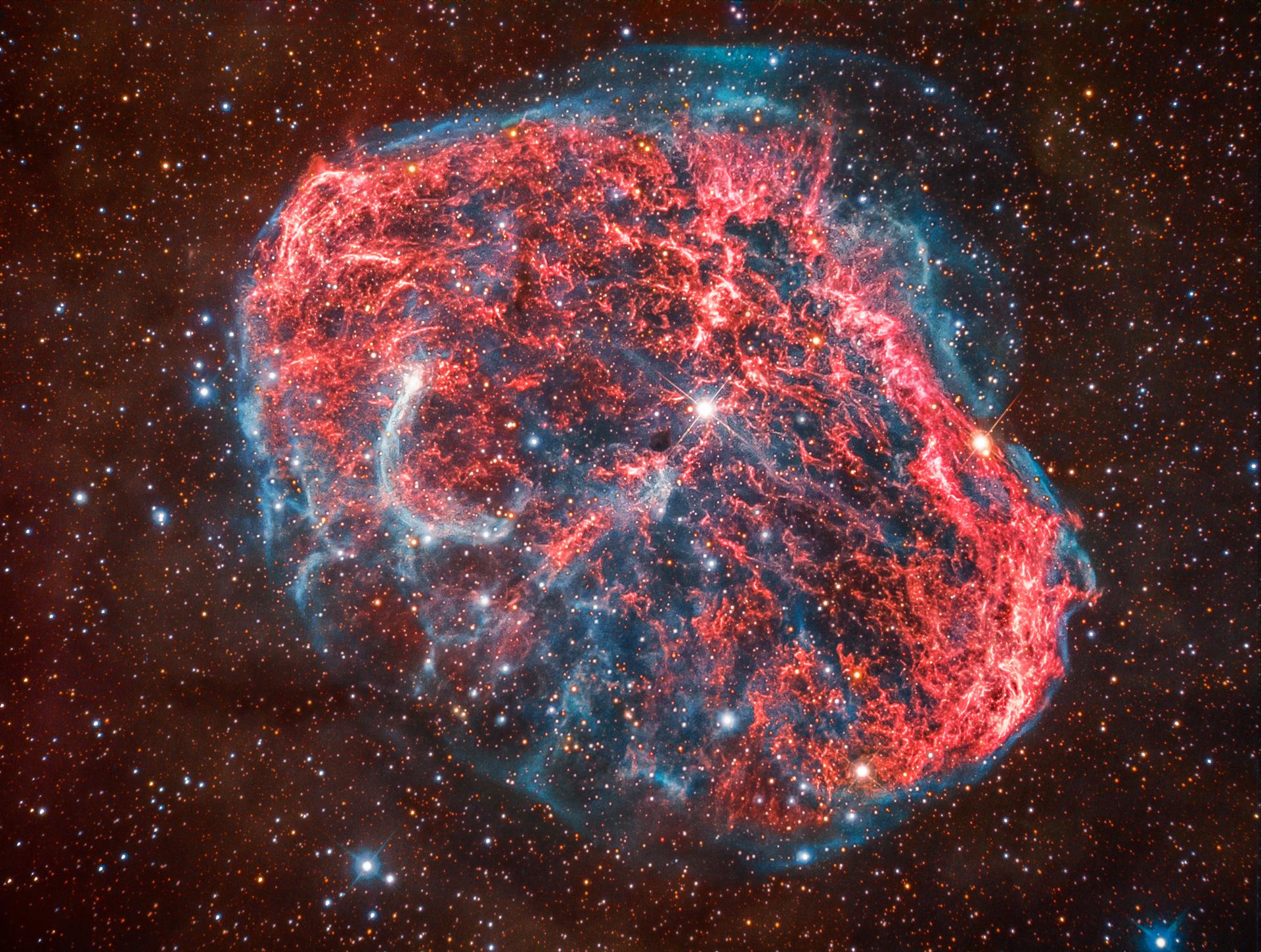 Crescent Nebula...