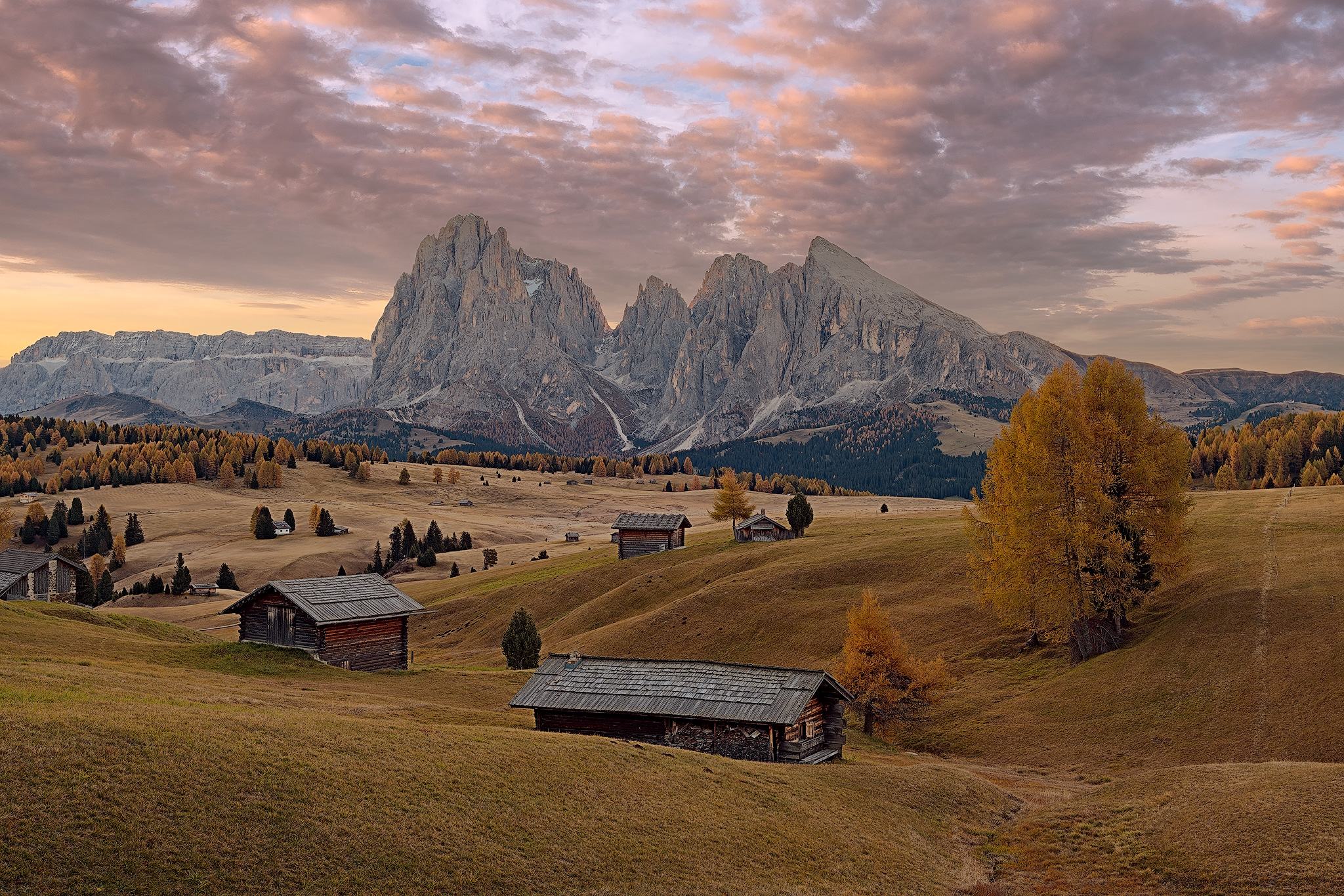 Dolomite's autumn...