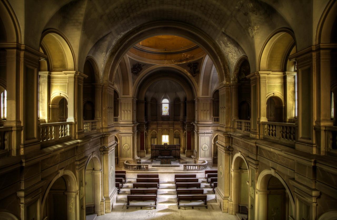 The Yellow Church...