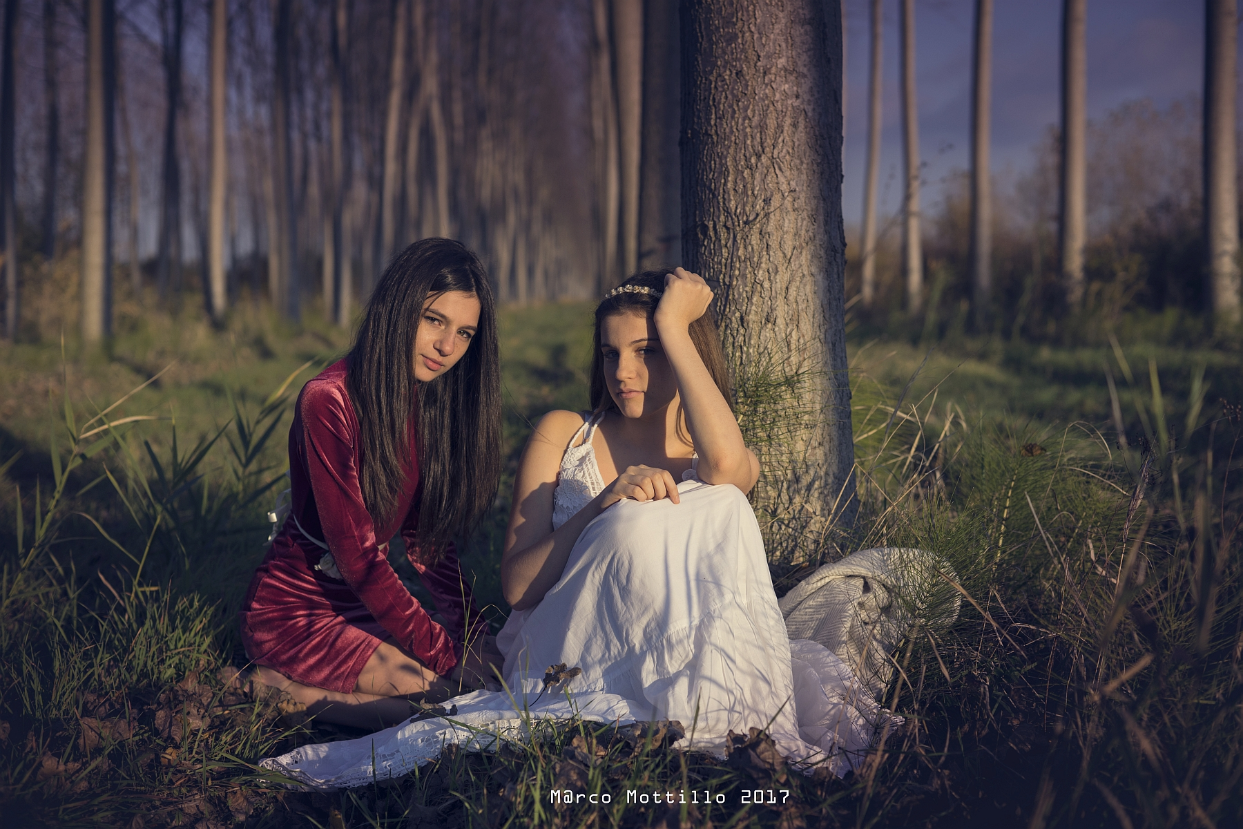 Paola and Melissa...