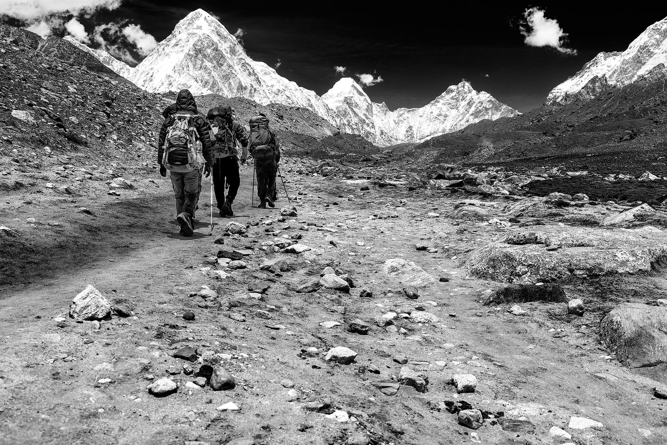 Verso l'Everest...