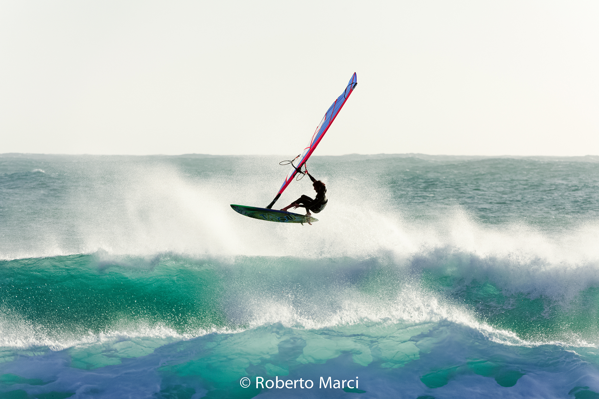 Windsurfing Wave at Cape Mannu...