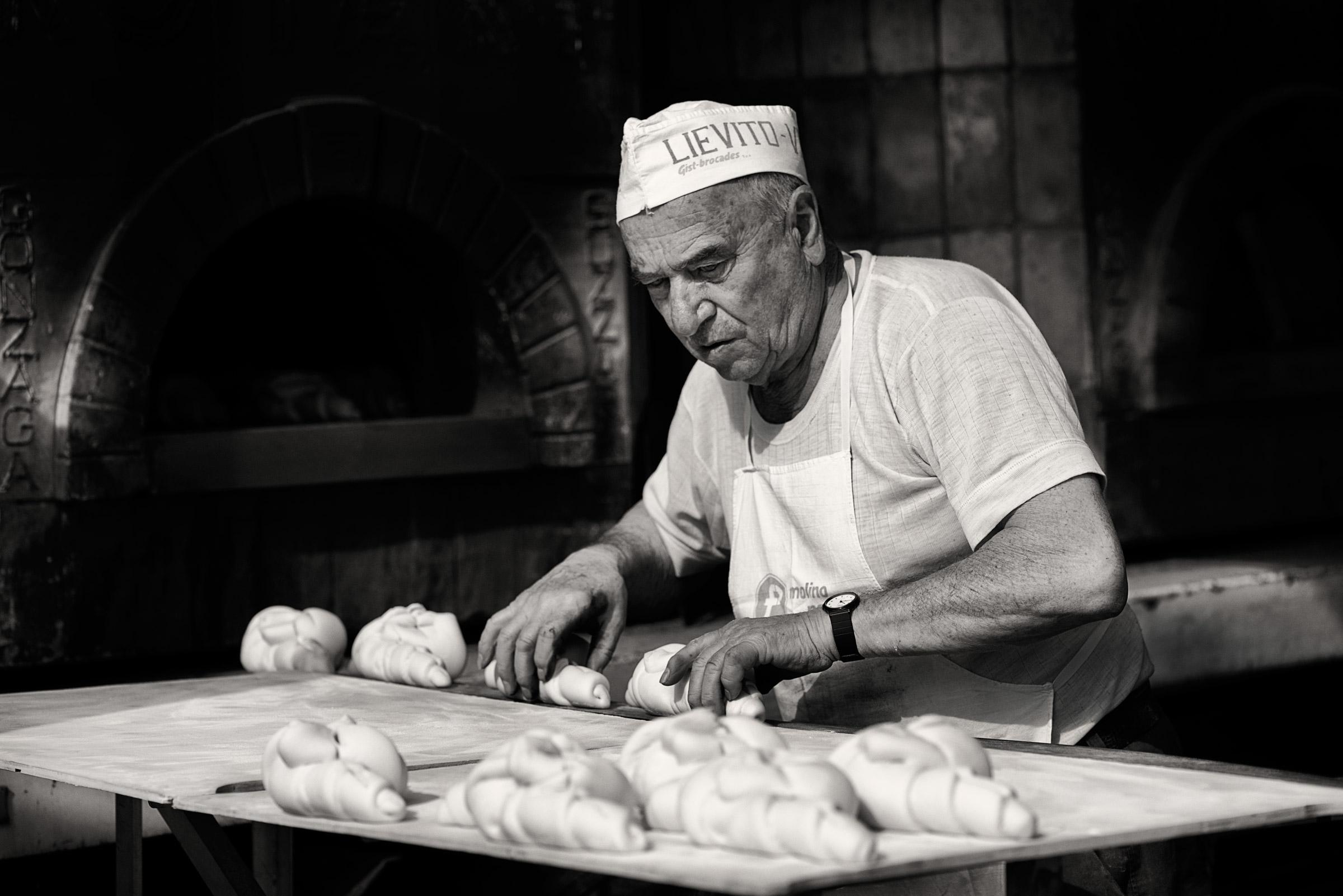 The Baker...