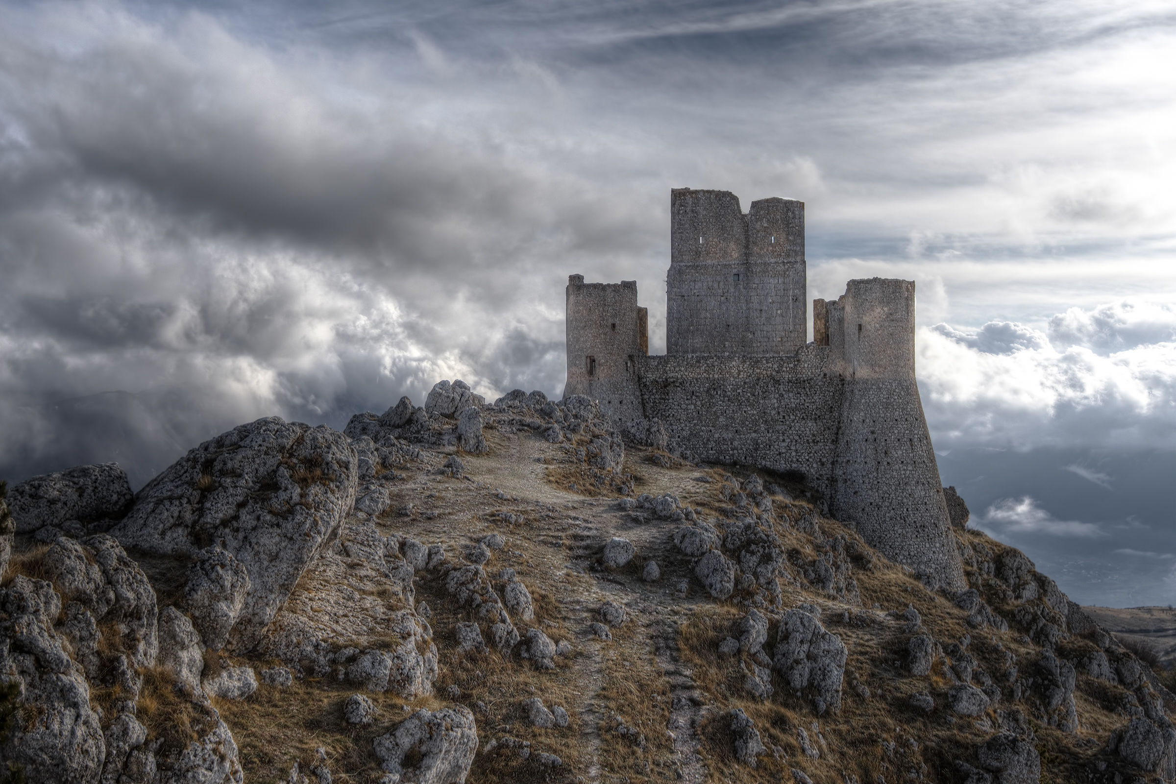 Rocca Calascio - History of the Apennines...