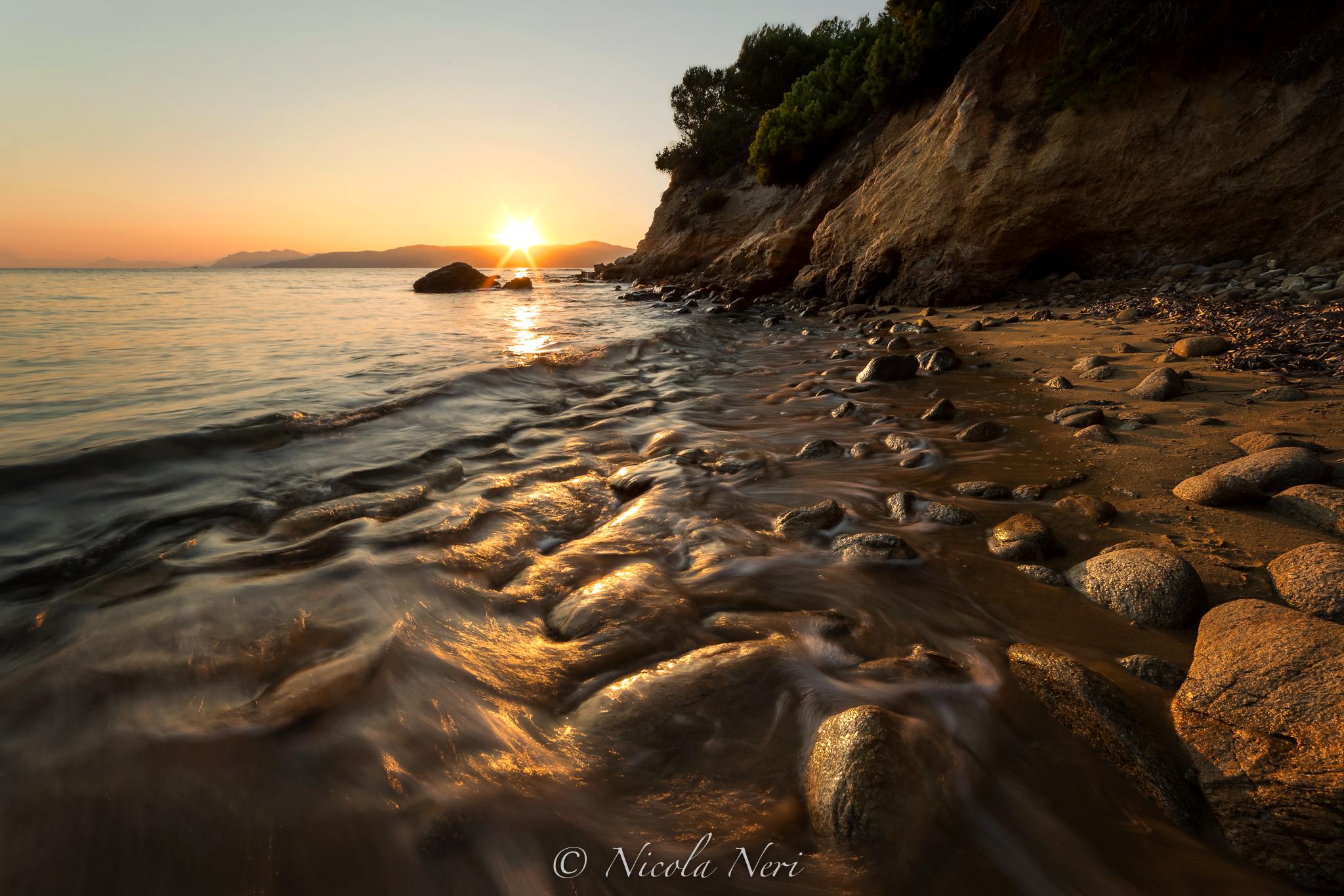 Tramonto in spiaggia ad Alonissos...