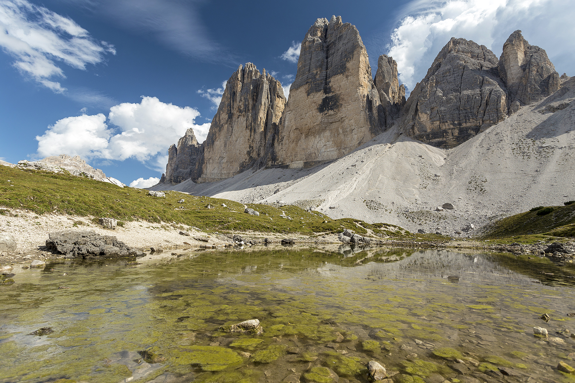 three peaks of Lavaredo...