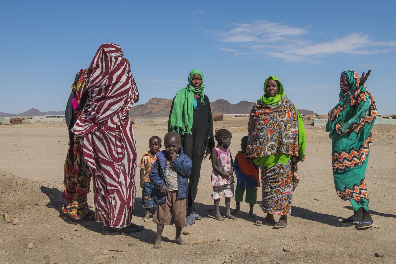 In the Nubian desert...