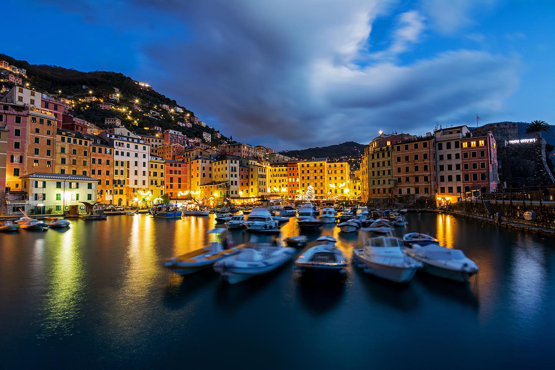 The small port of Camogli...
