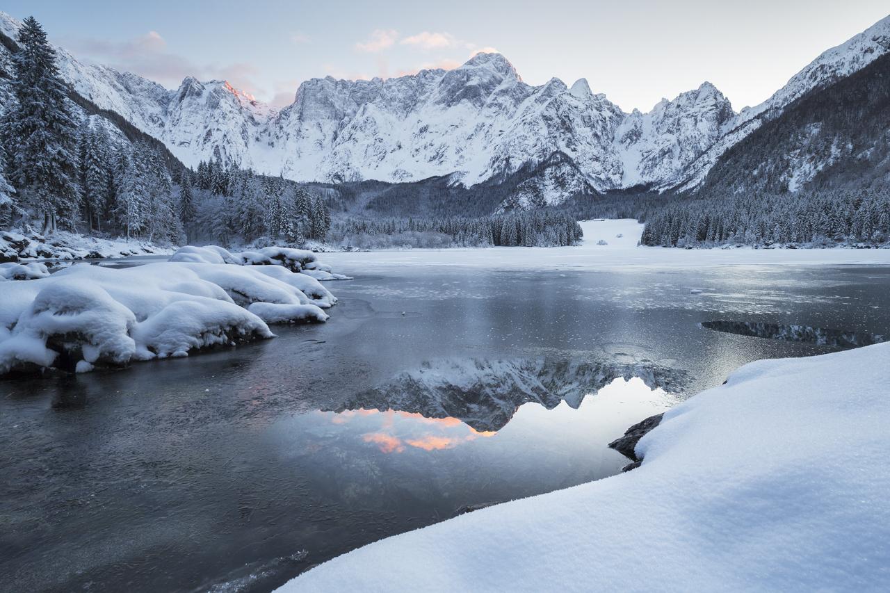 Upper Lake of Fusine...