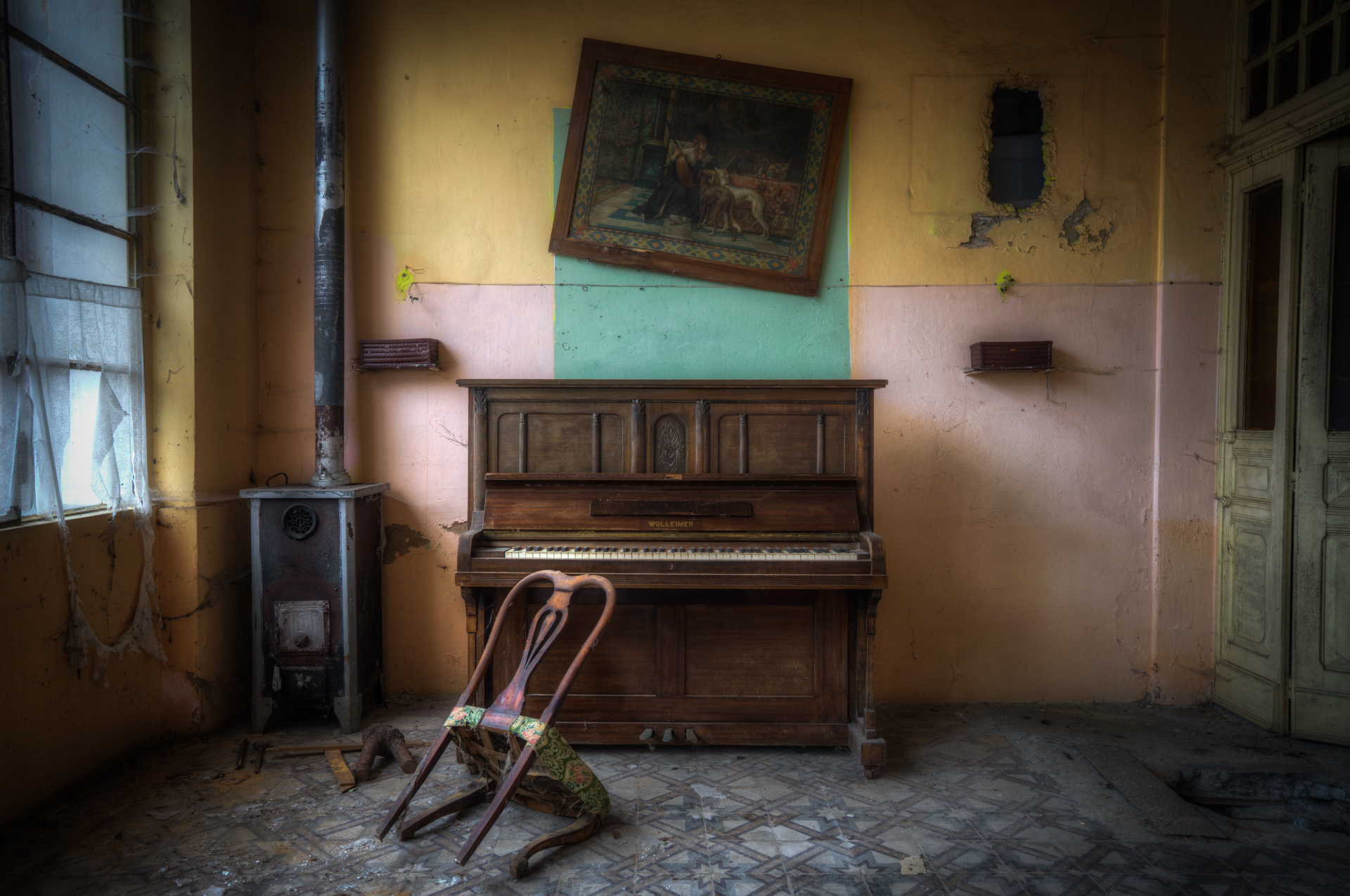 My old piano........