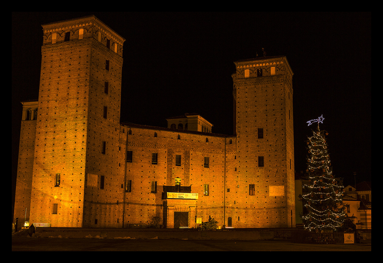 Fossano by night...