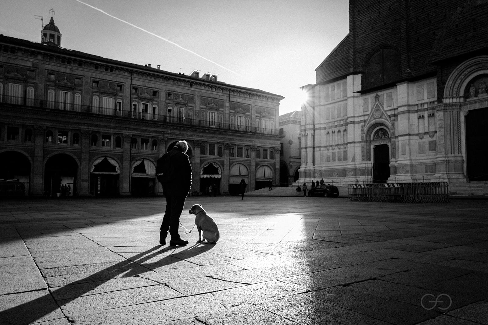 Morning in Piazza Grande...