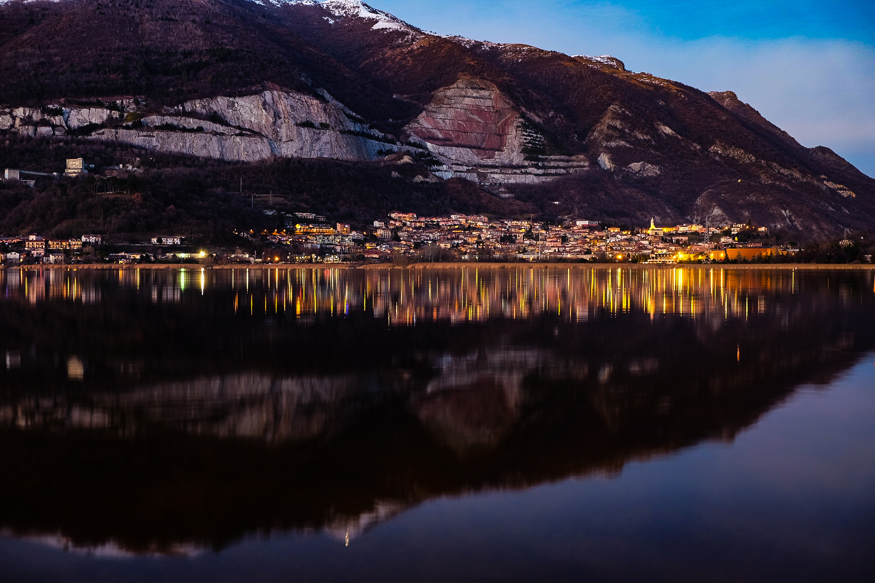 pusiano the blue hour ......