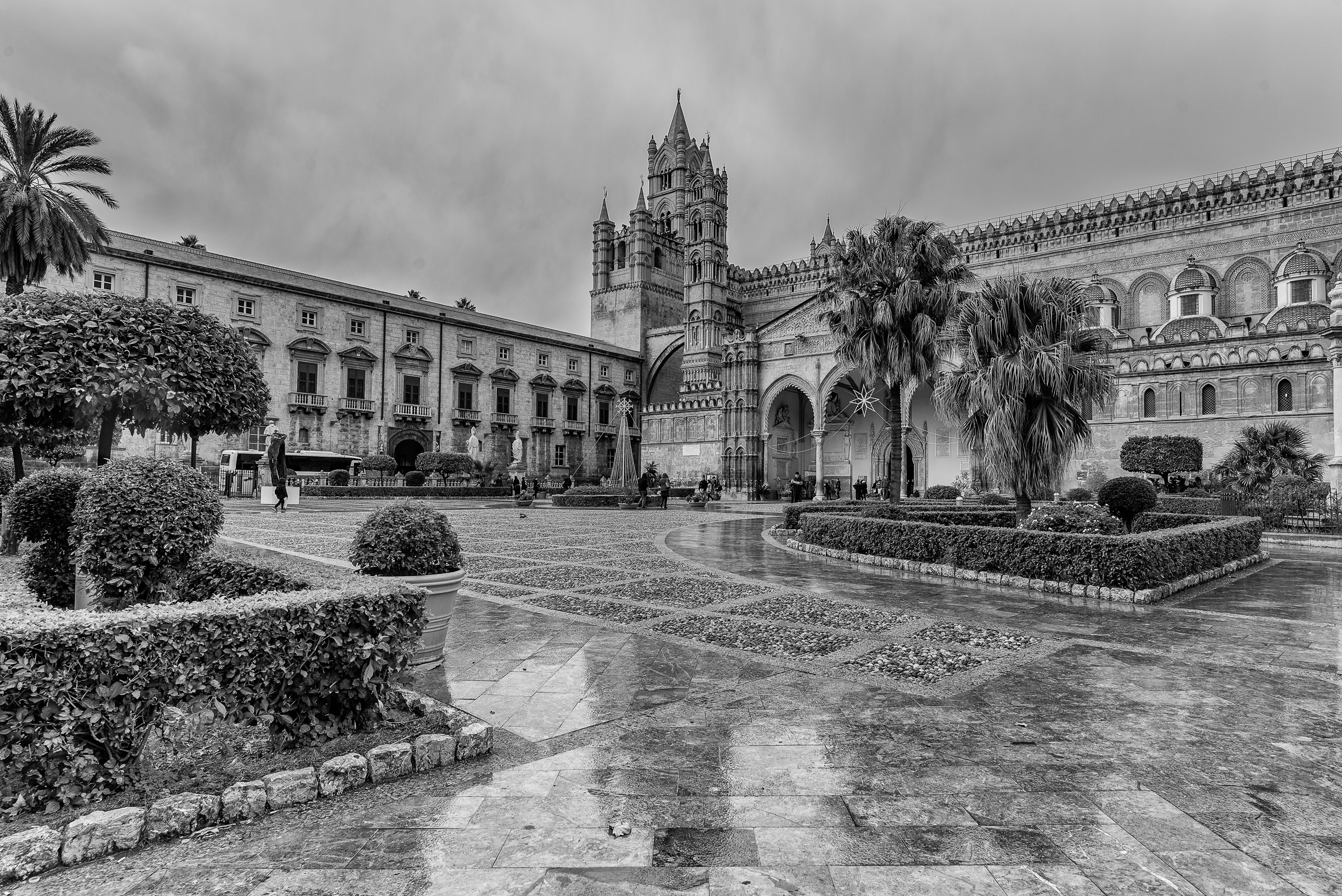 Palermo, the Cathedral...