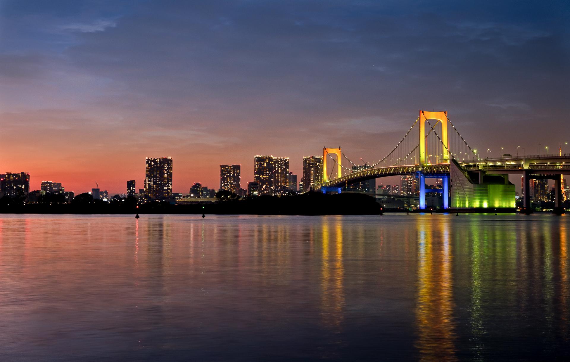 Rainbow Bridge Tokyo...