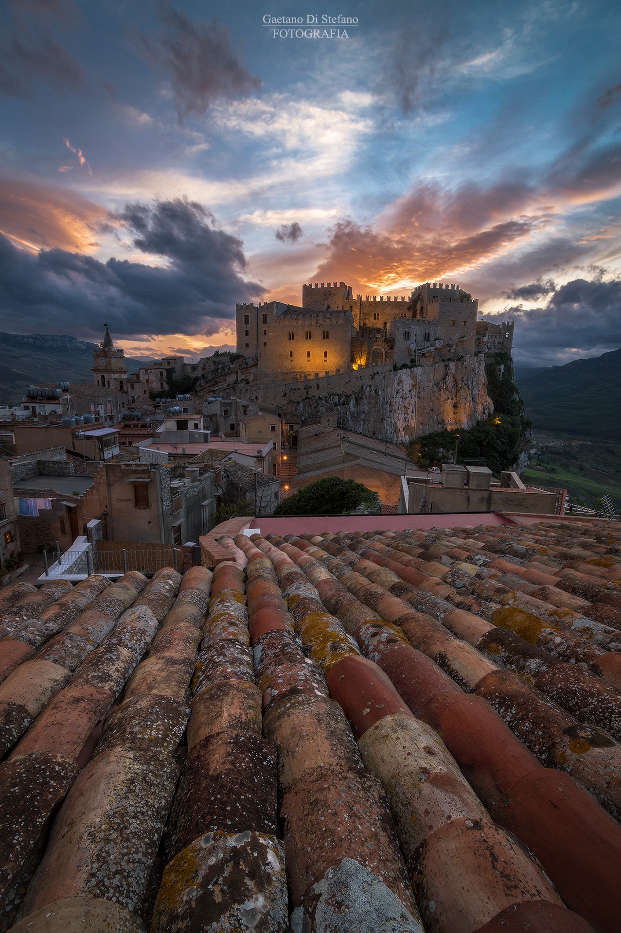 Sunset at the castle...