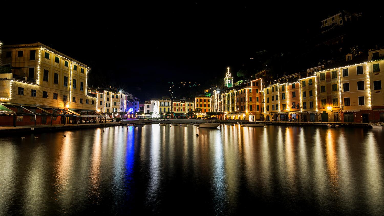 The square of Portofino...