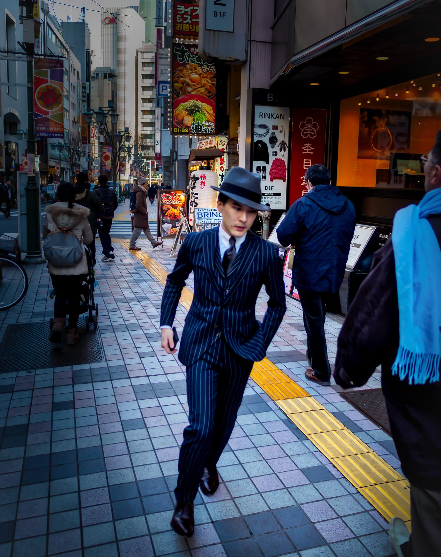 2018 .... A new Gangster in Shinjuku...
