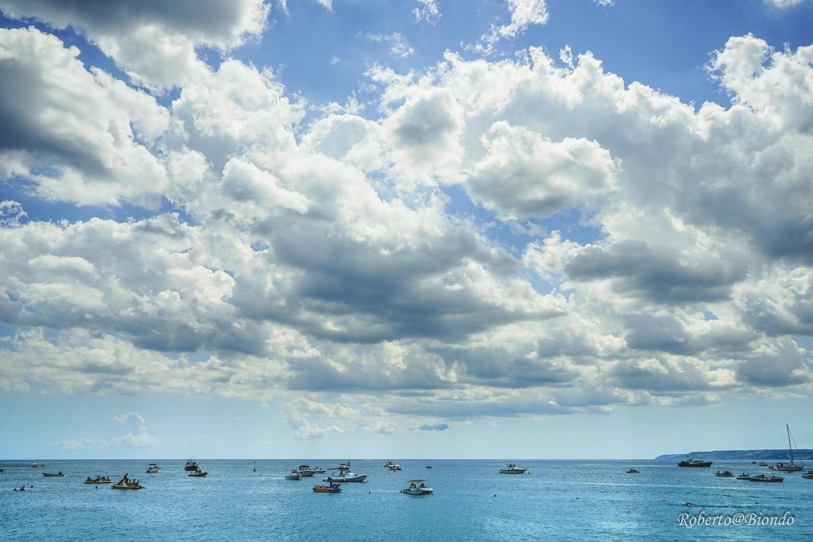Salento clouds...