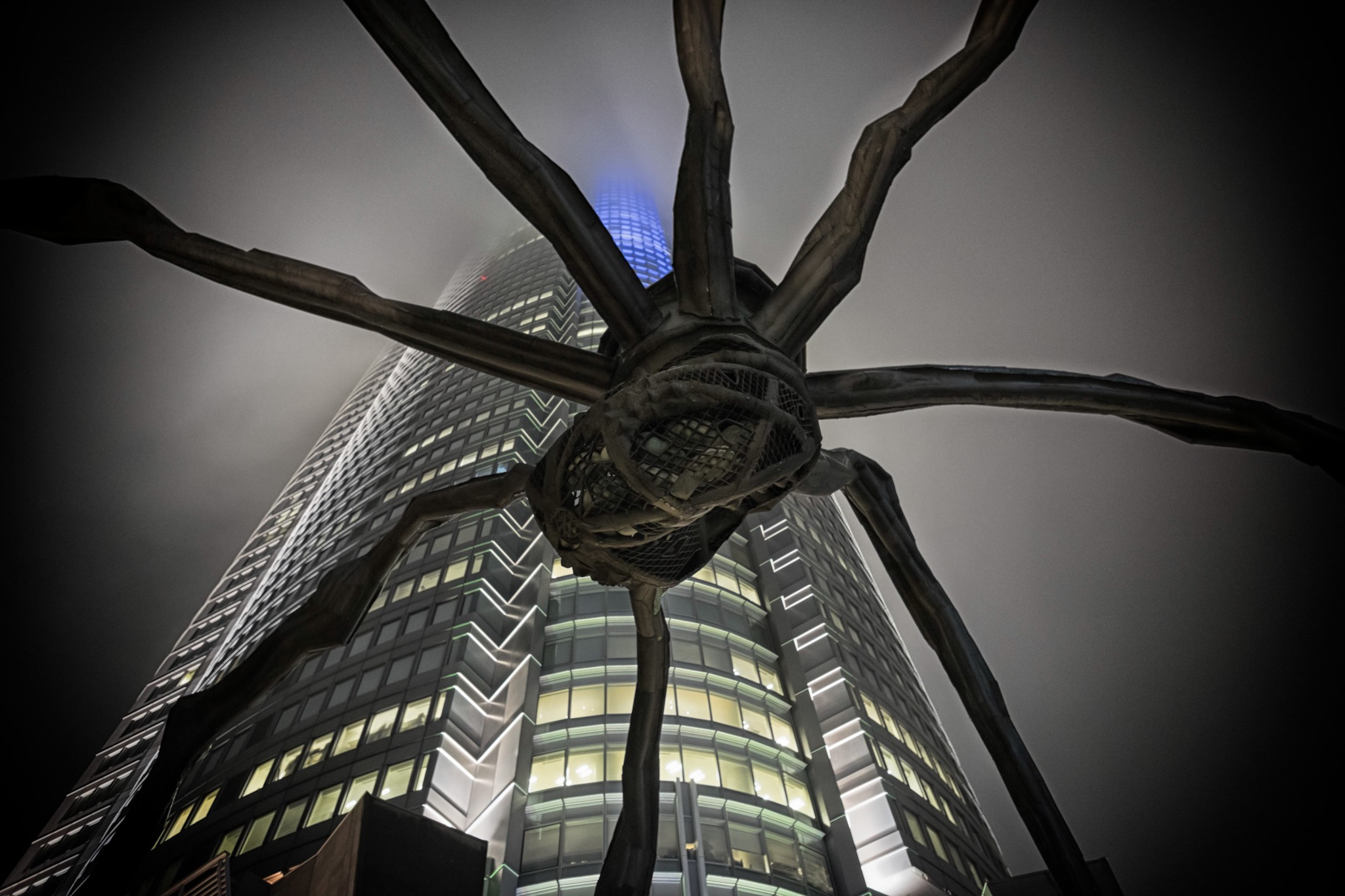 Spiders invasion at Roppongi Hill Tokyo...