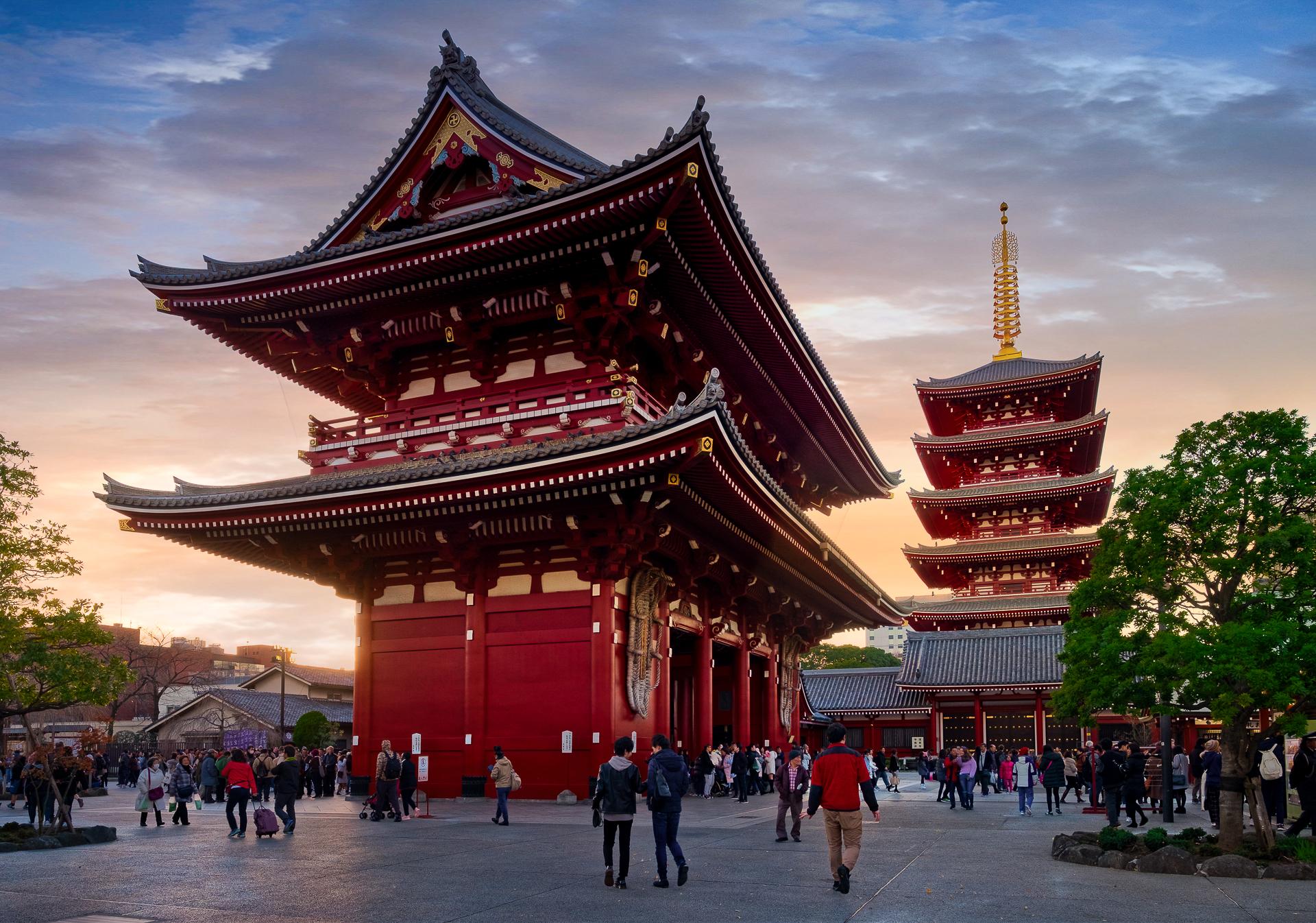 Asakusa Temple Tokyo...