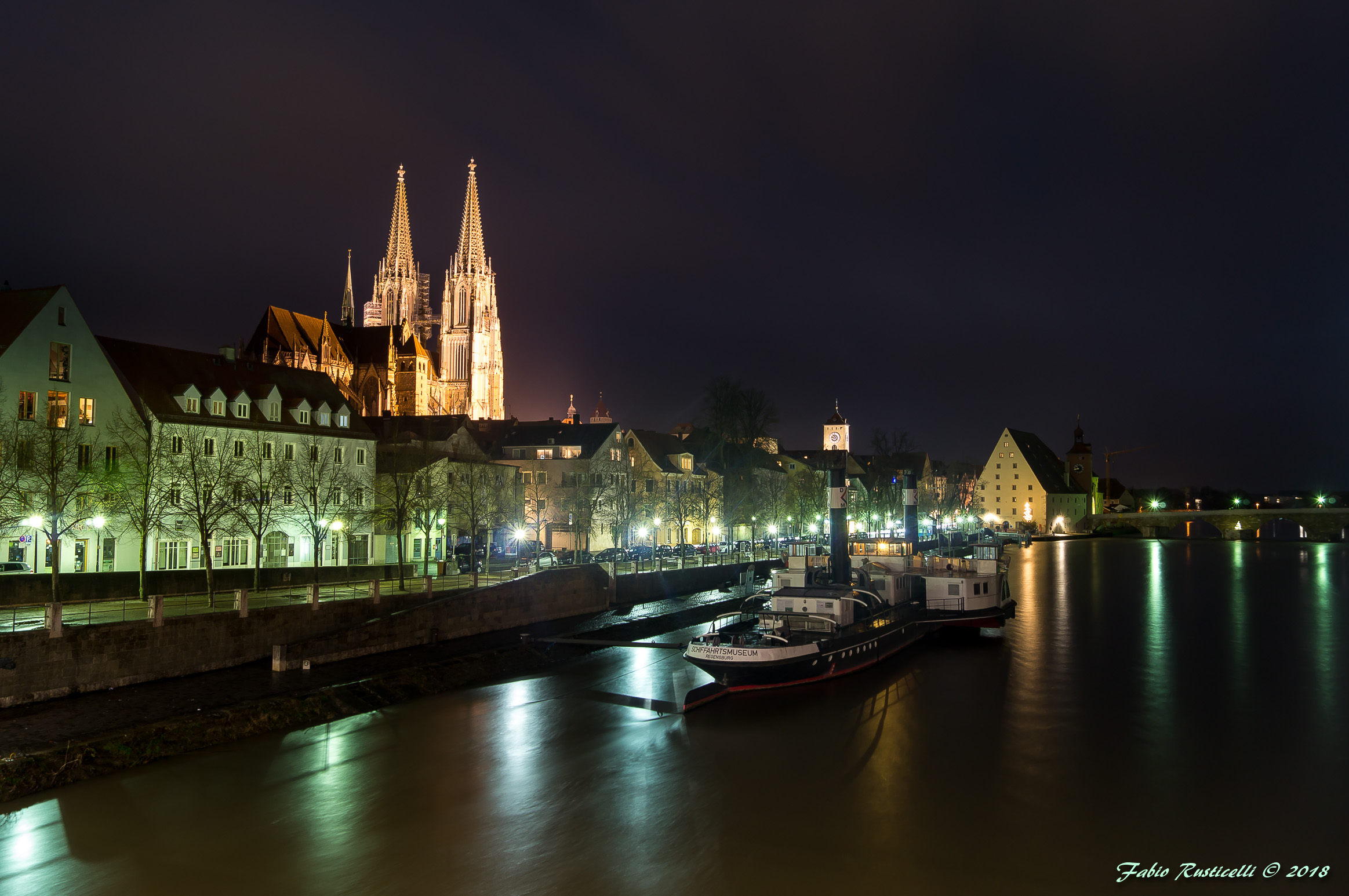 Regensburg, its Cathedral and the Danube...