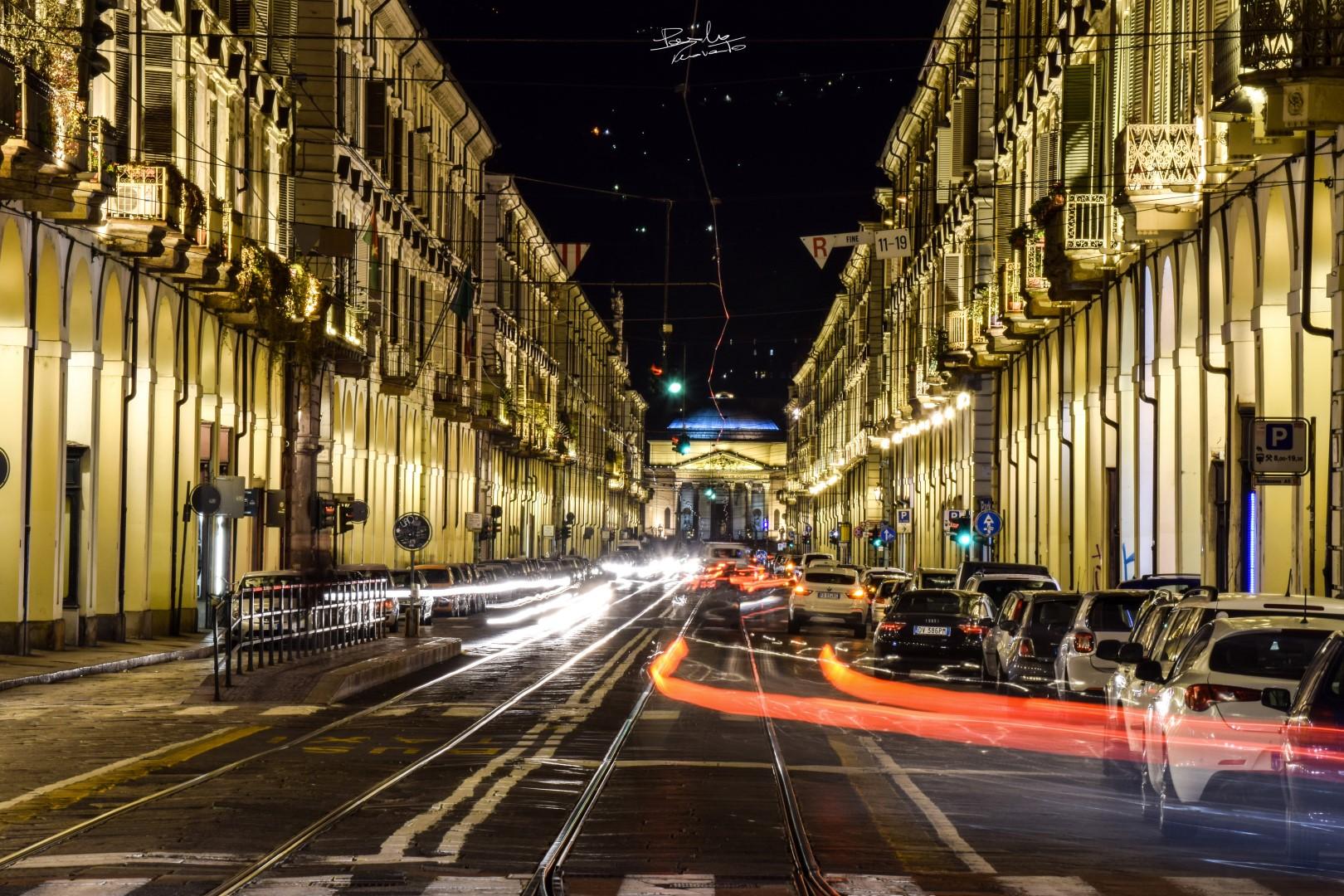 Via Po - Gran Madre - Turin...