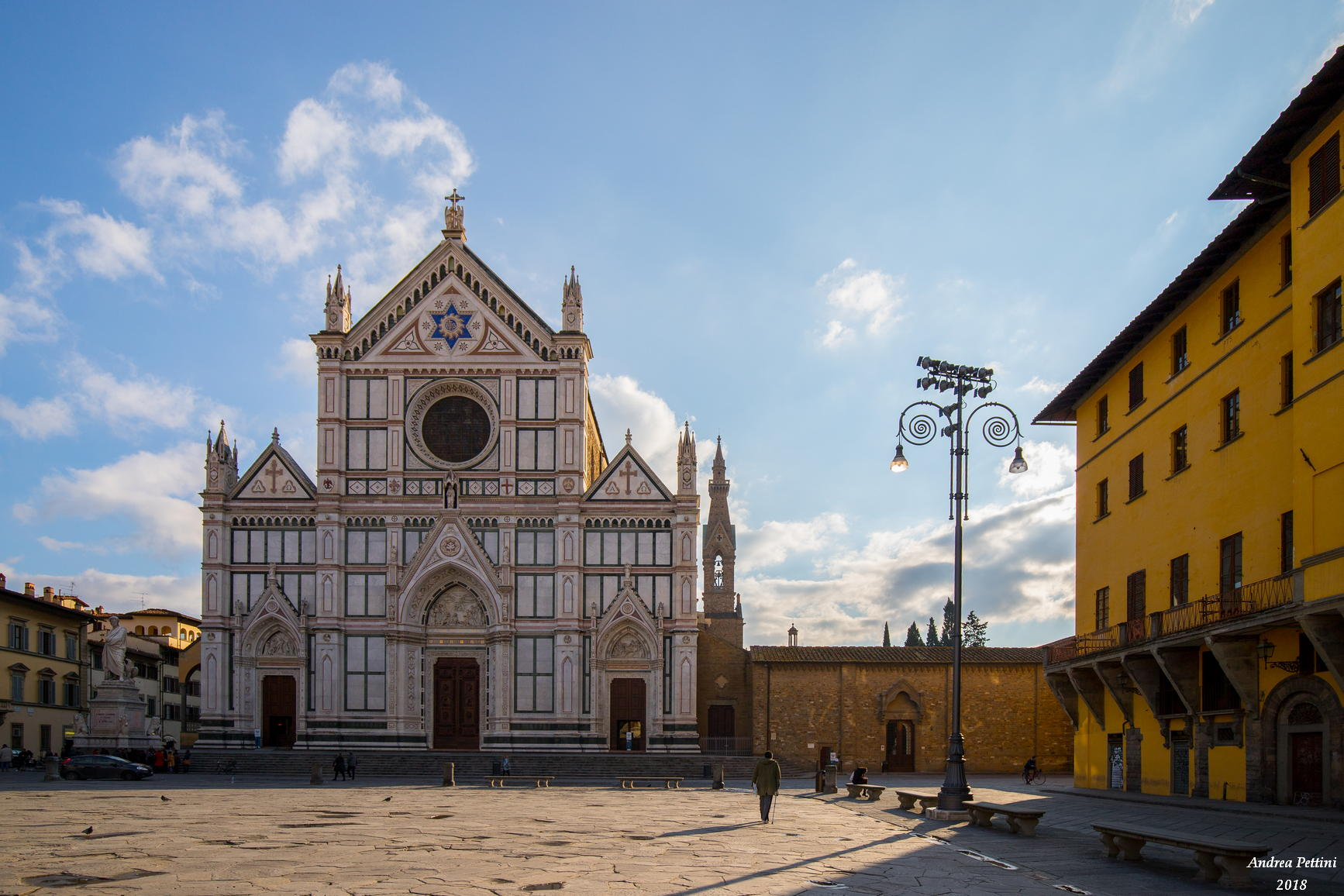 Piazza Santa Croce...