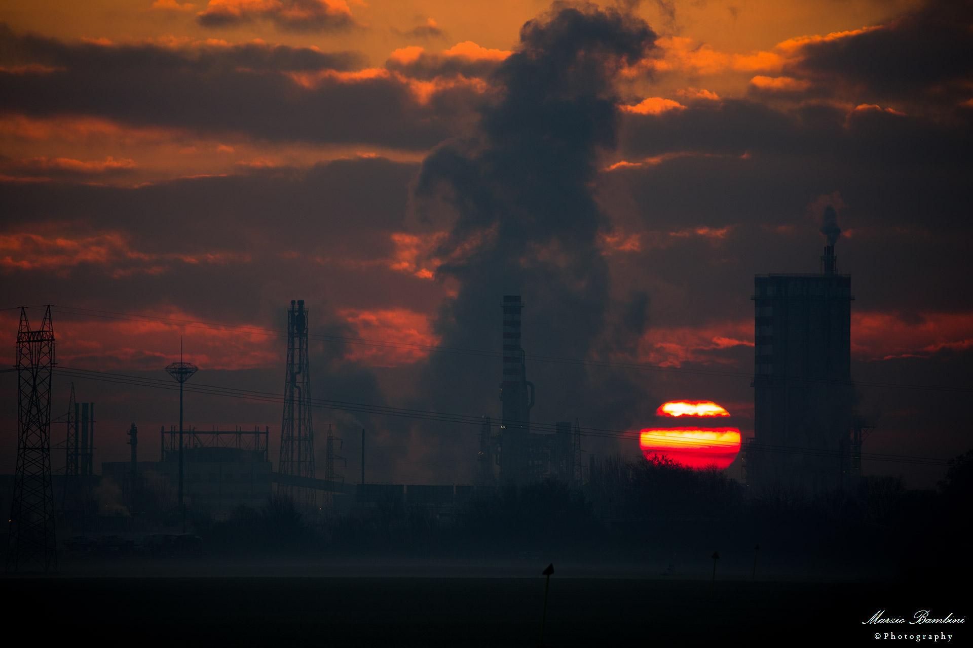2018, Ferrara, petrochemical...